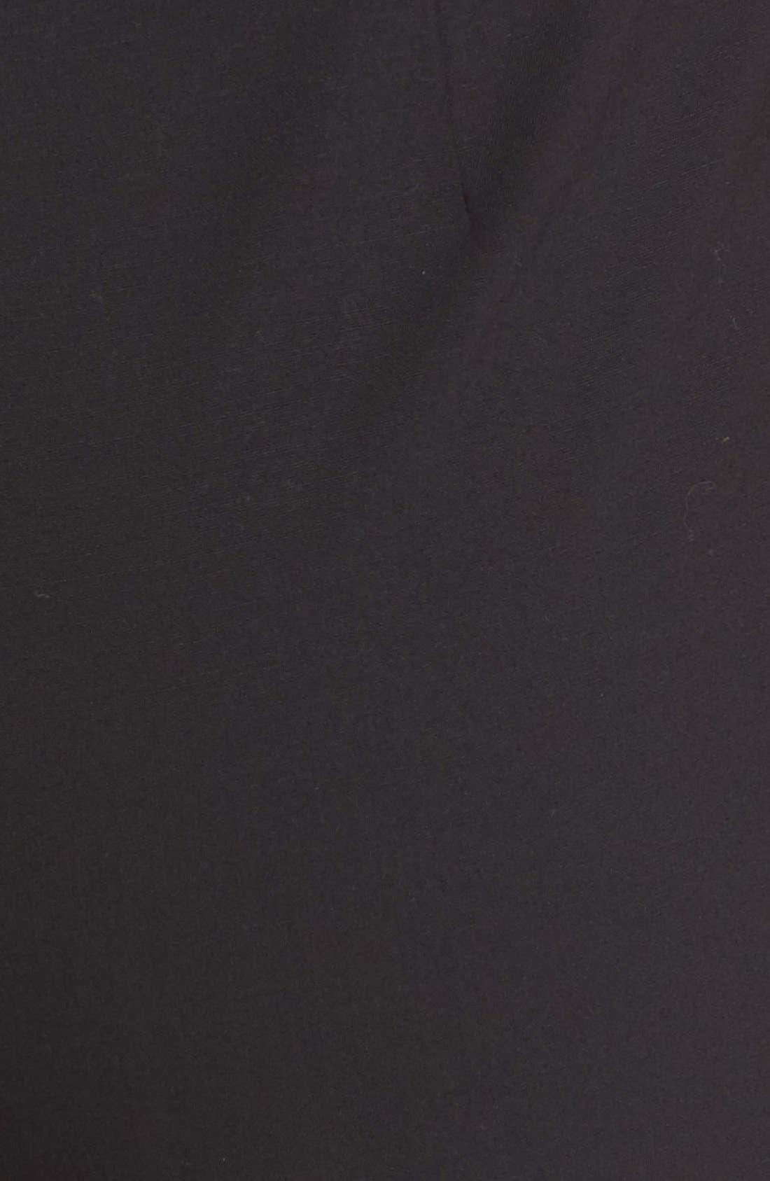 Barrow Stretch Wool Pants,                             Alternate thumbnail 7, color,                             BLACK