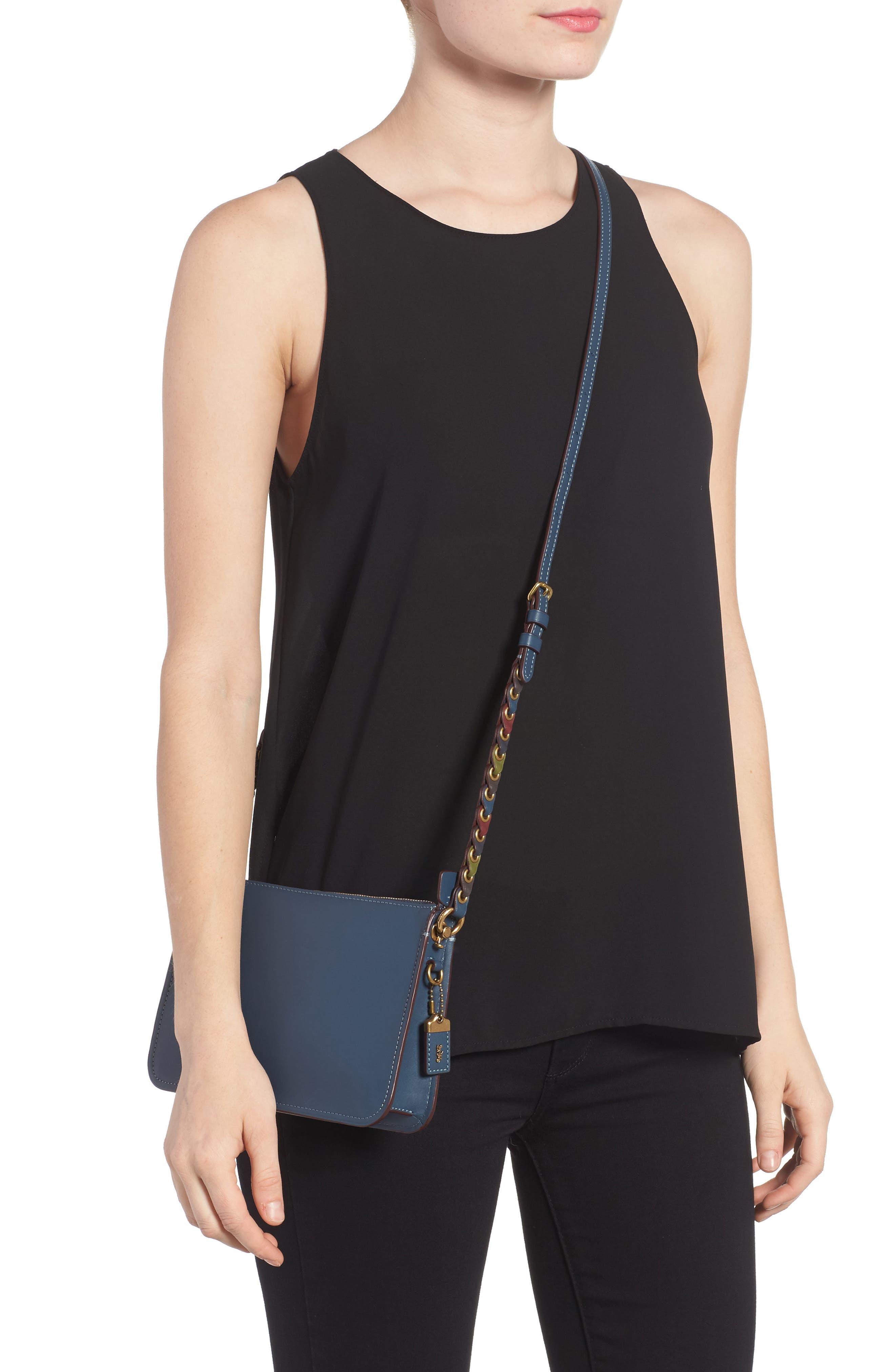 Soho Leather Crossbody Bag,                             Alternate thumbnail 2, color,
