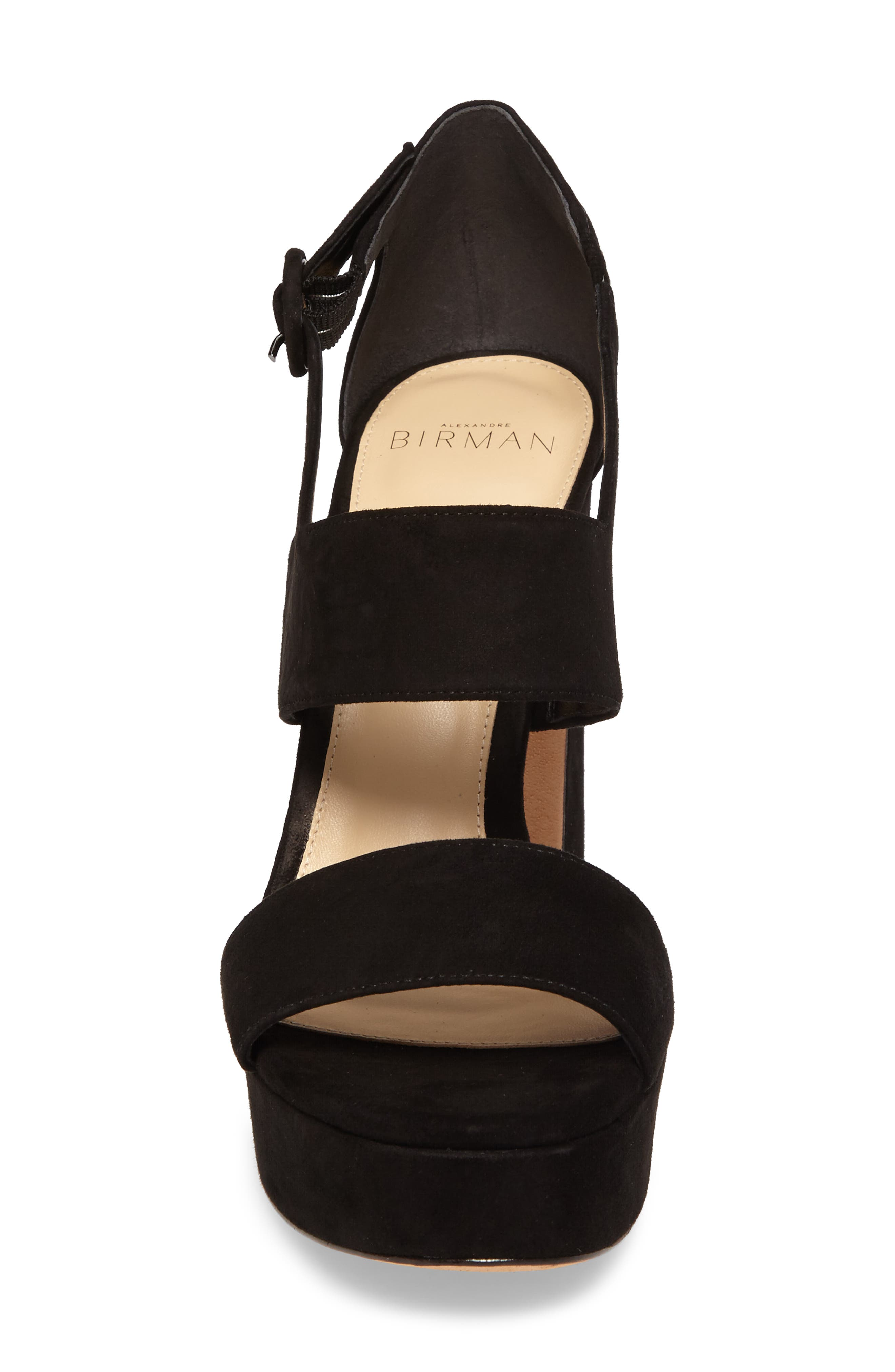 Elouise Platform Sandal,                             Alternate thumbnail 4, color,                             001