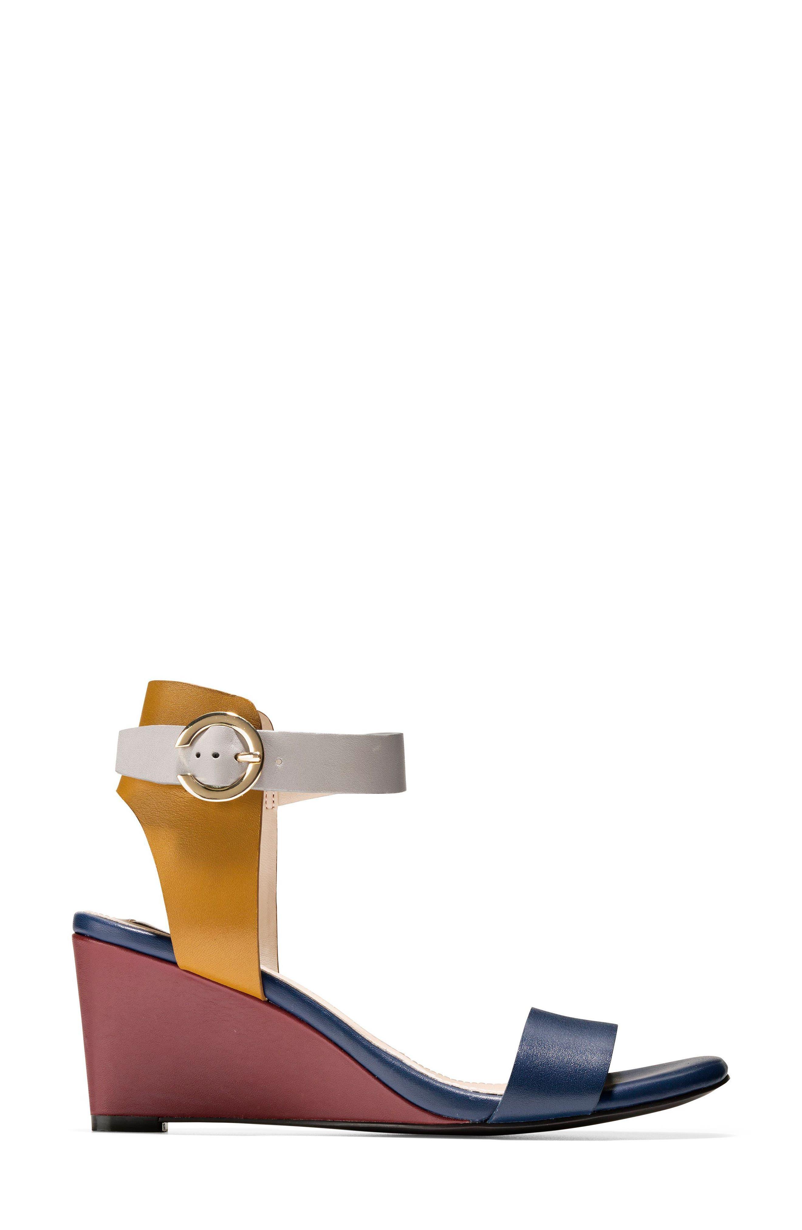 Rosalind Wedge Sandal,                             Alternate thumbnail 9, color,