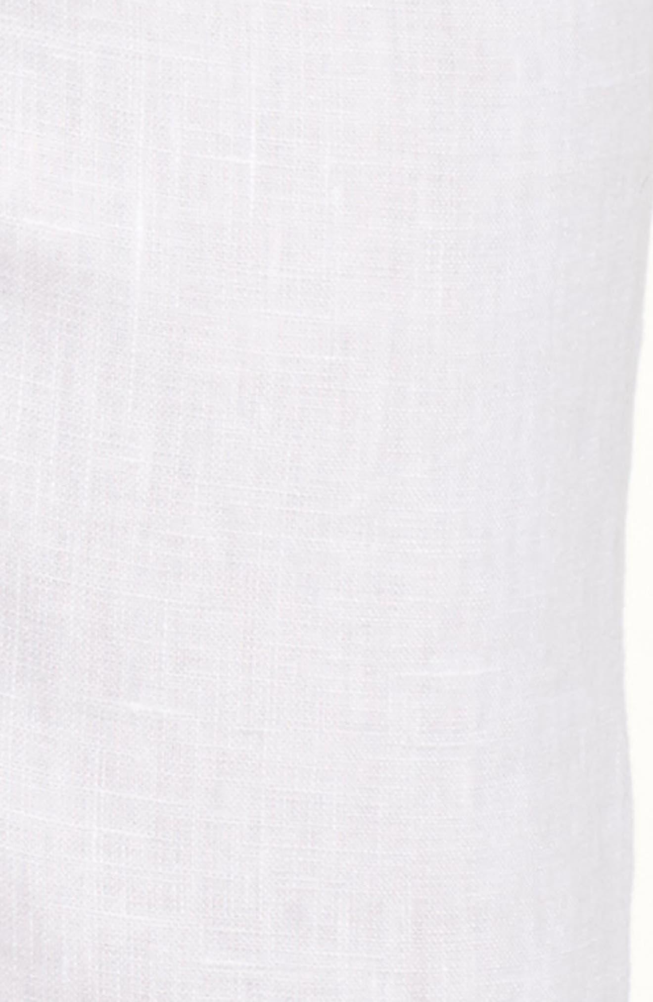 Linen Crop Pants,                             Alternate thumbnail 31, color,