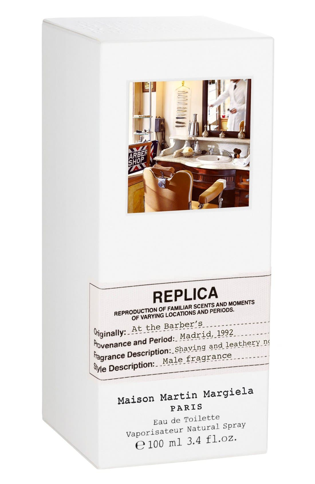 Replica At the Barber's Fragrance,                             Alternate thumbnail 2, color,                             NO COLOR