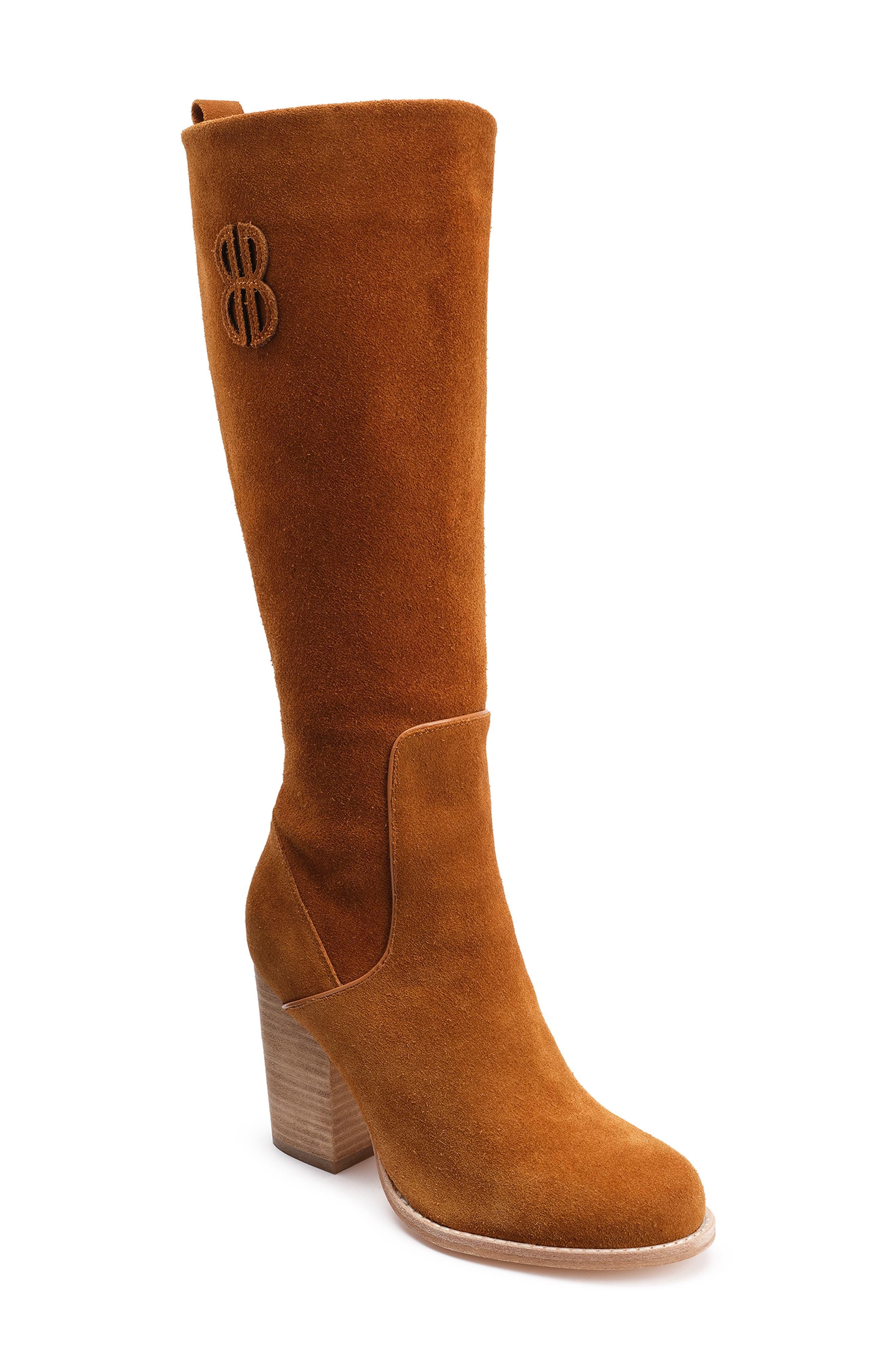Bill Blass Bb Knee High Boot, Brown