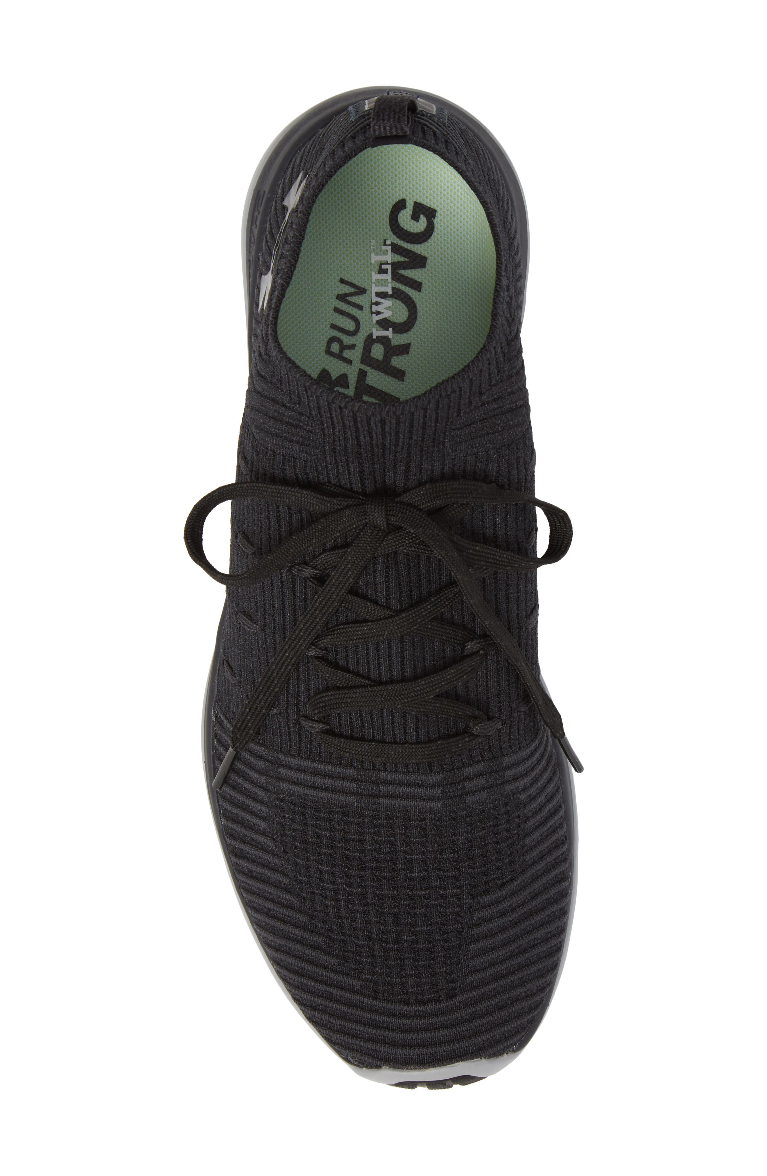 Slingflex Rise Sneaker,                             Alternate thumbnail 5, color,                             BLACK / ANTHRACITE / BLACK