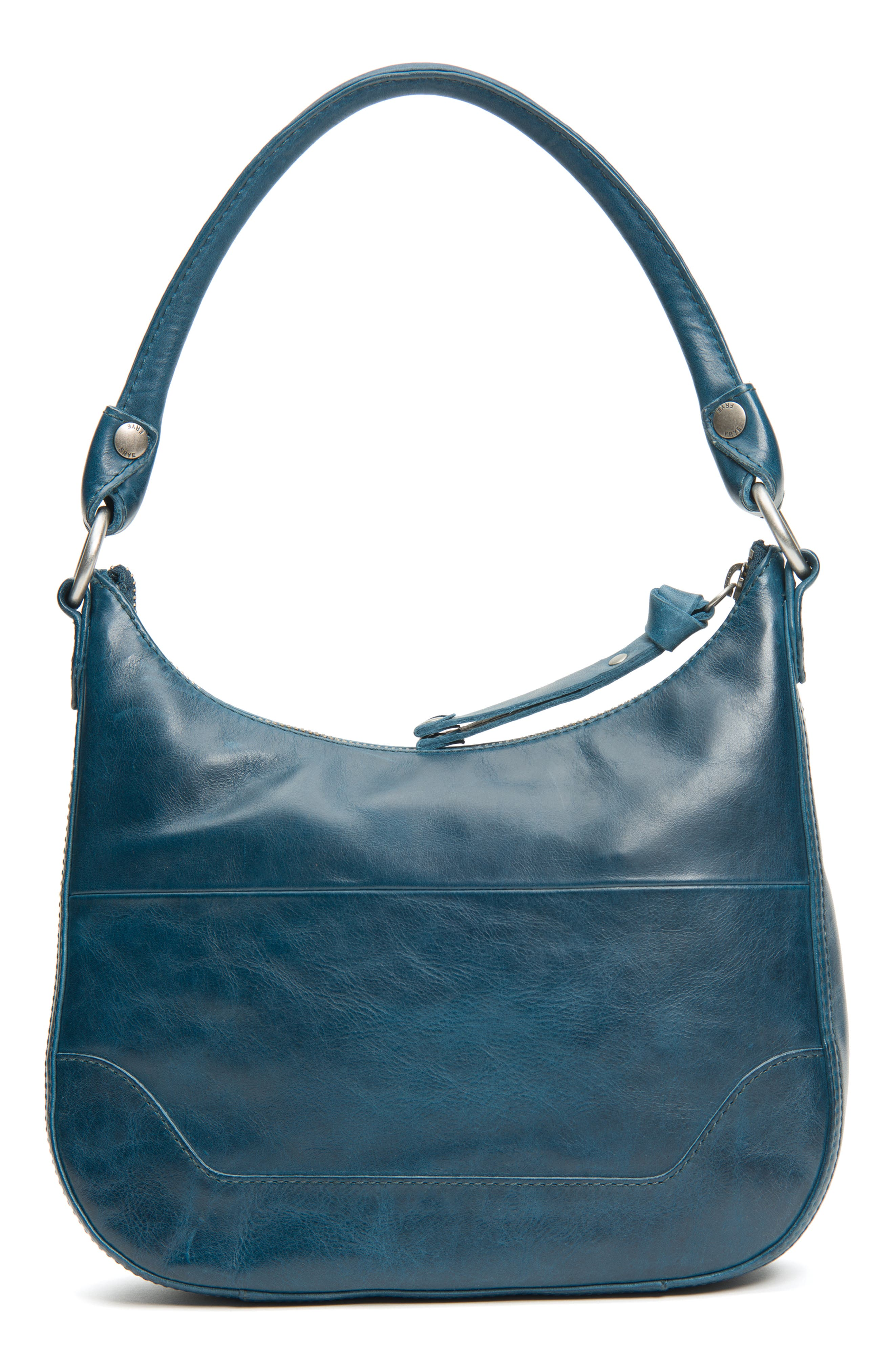 Small Melissa Leather Hobo Bag,                             Alternate thumbnail 6, color,