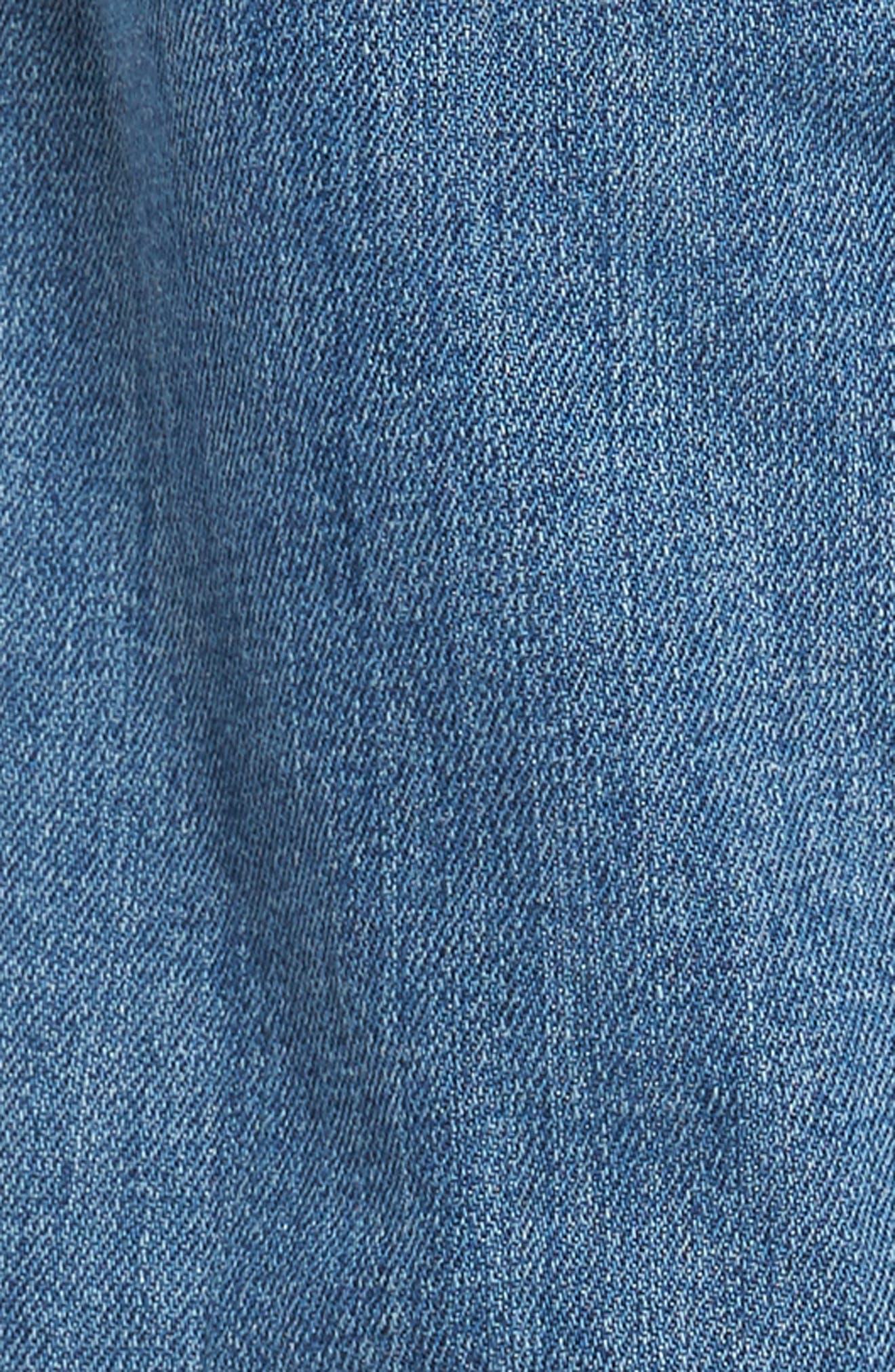 Clark Slim Straight Fit Jeans,                             Alternate thumbnail 5, color,