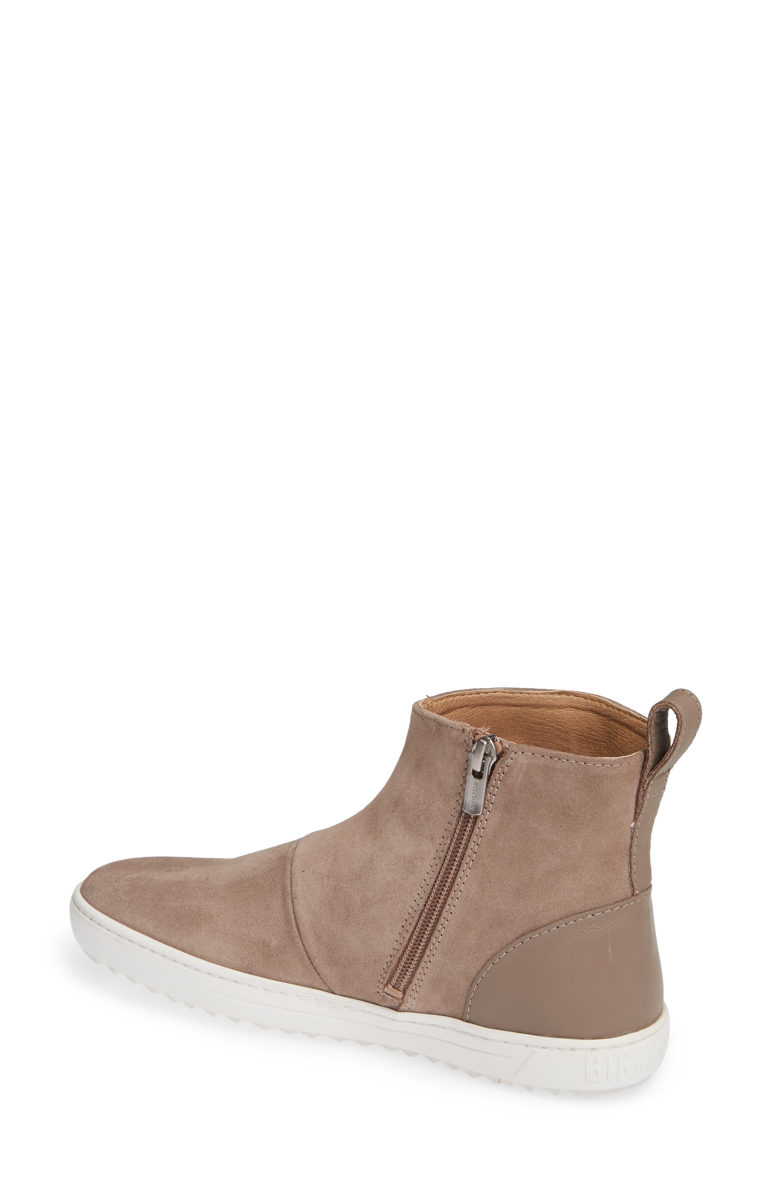 Myra High Top Sneaker,                             Alternate thumbnail 2, color,                             TAUPE SUEDE