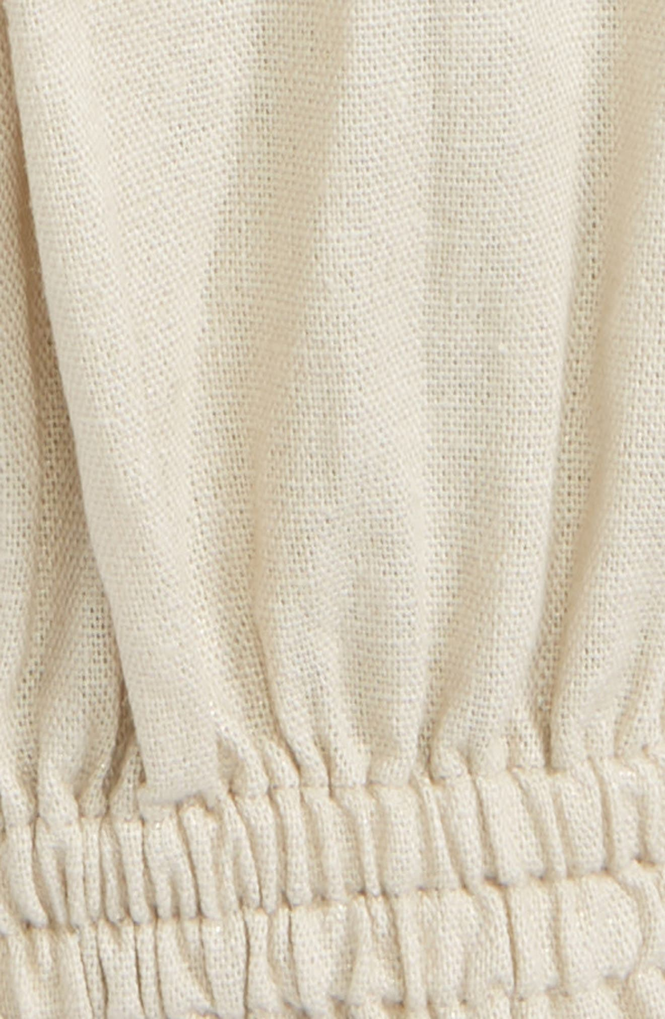 Lina Linen Blend Pants,                             Alternate thumbnail 2, color,