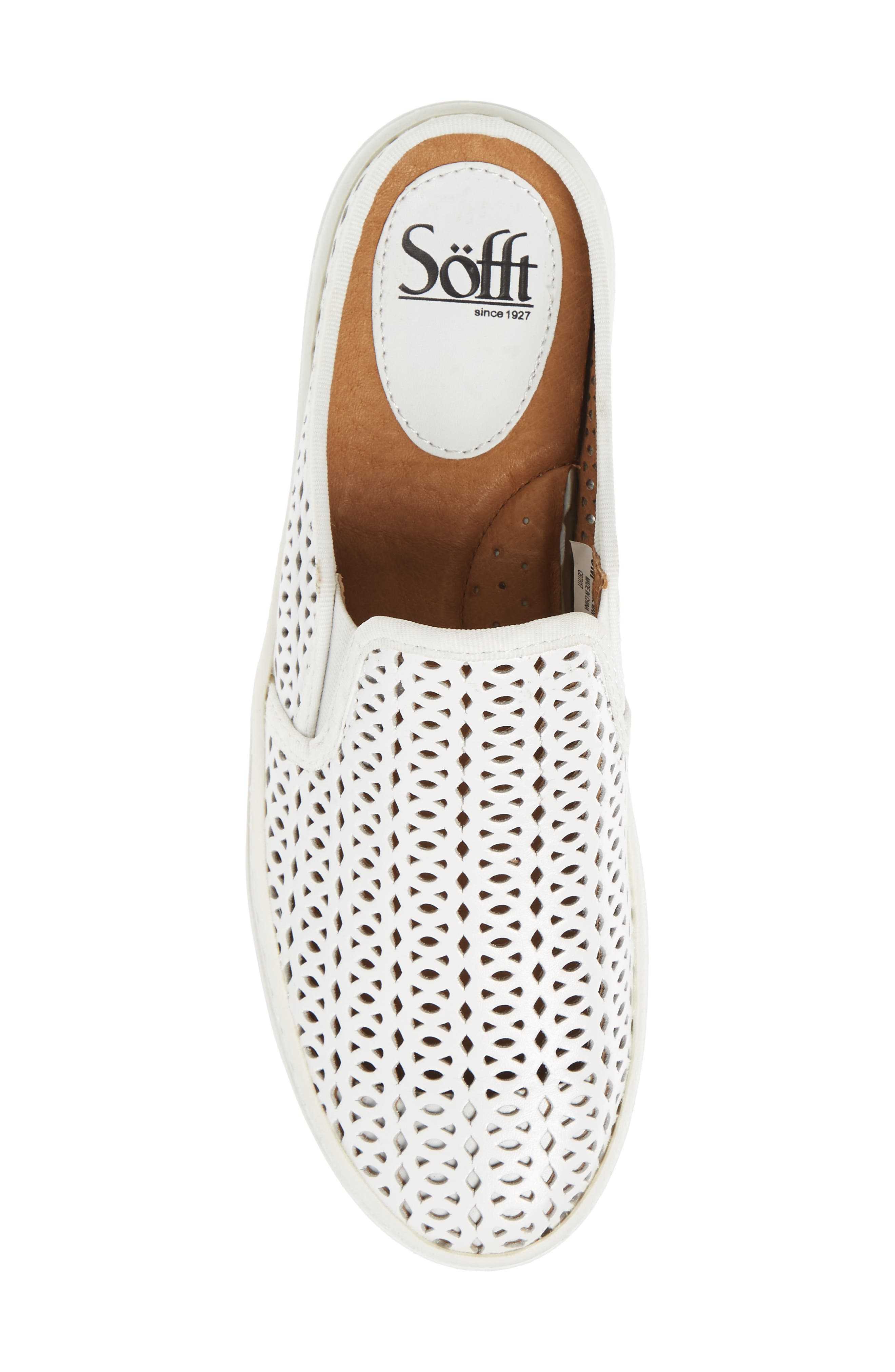 Somers II Sneaker,                             Alternate thumbnail 5, color,                             WHITE LEATHER