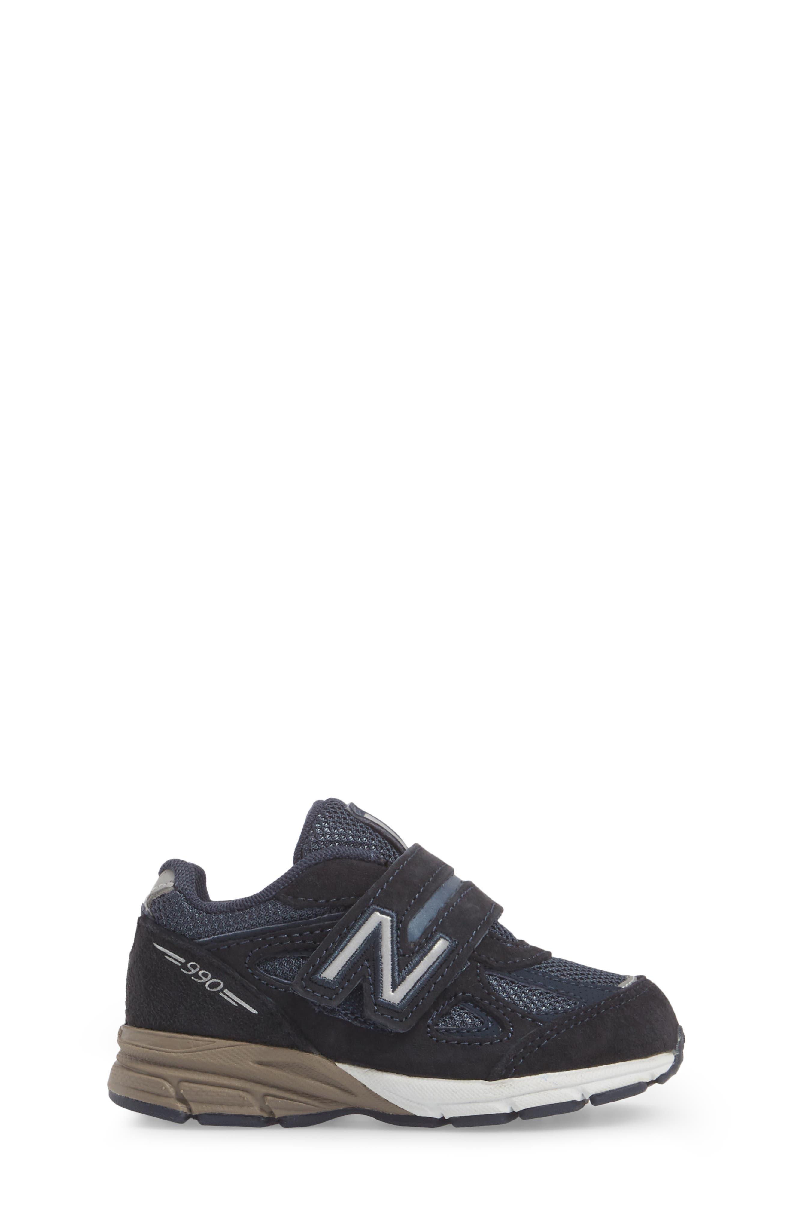 990v4 Sneaker,                             Alternate thumbnail 3, color,                             410