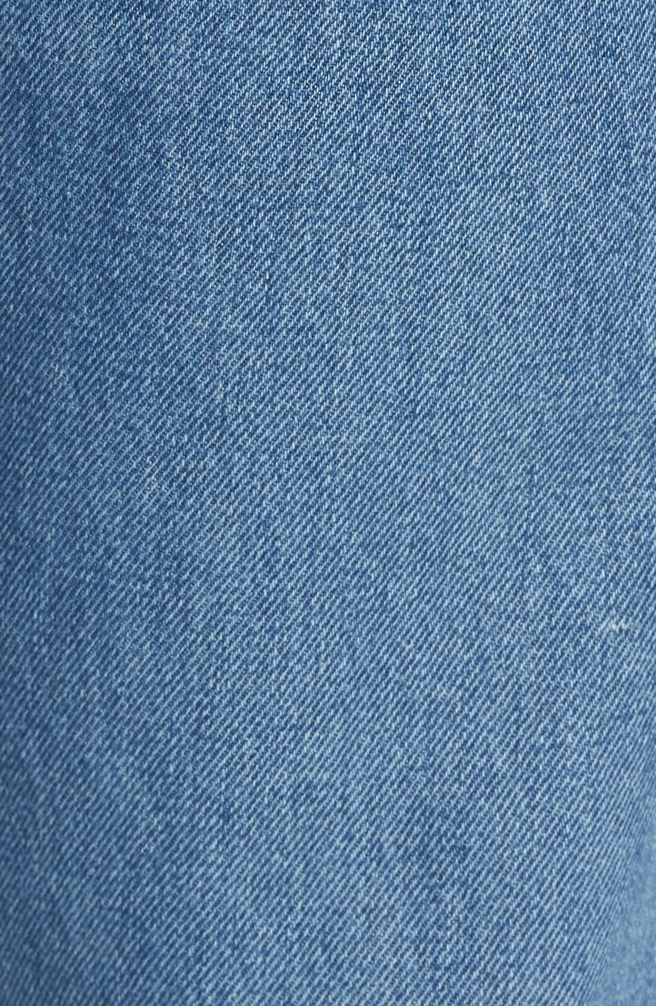 501<sup>™</sup> Straight Leg Jeans,                             Alternate thumbnail 5, color,                             420