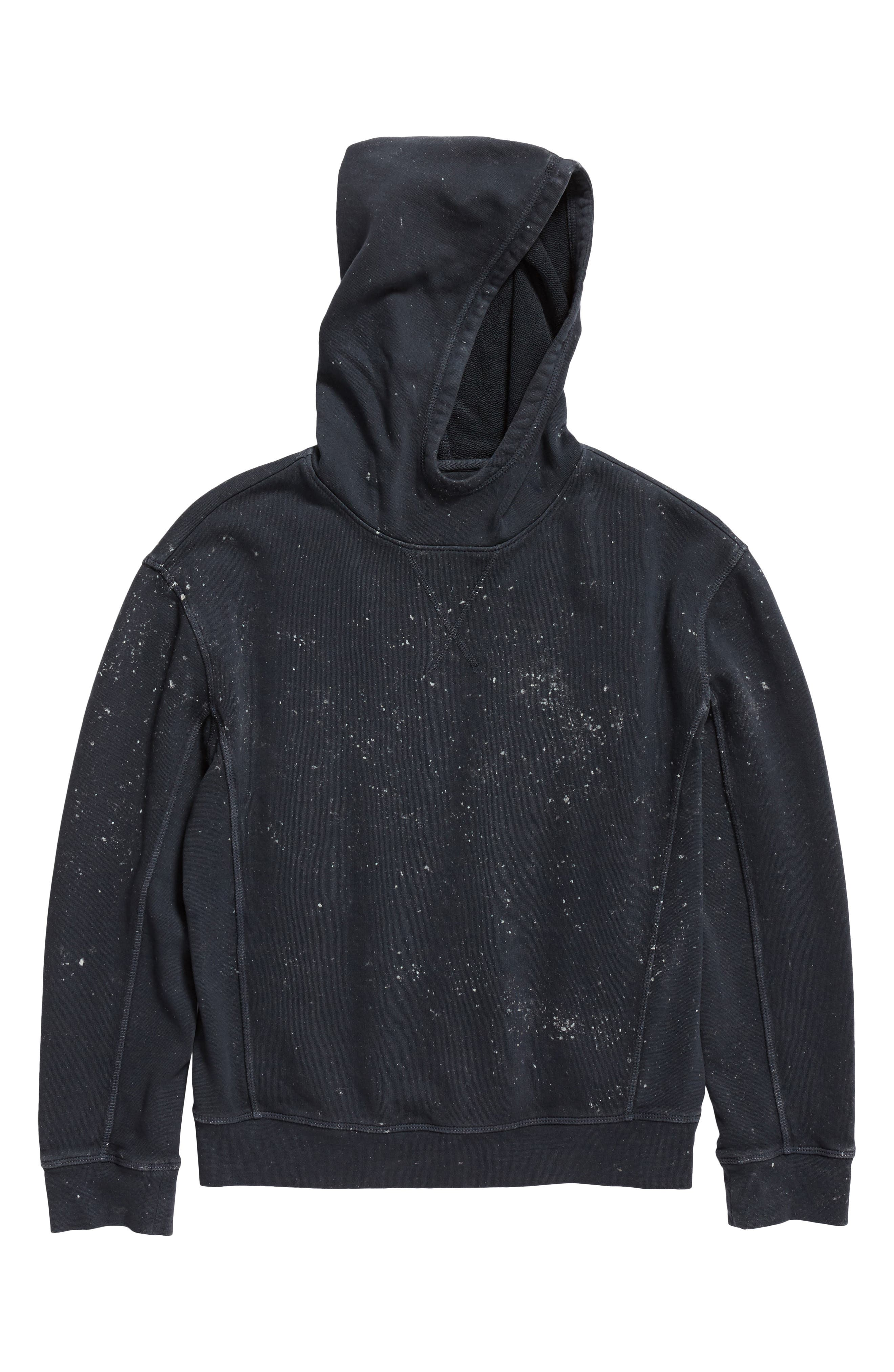 Paint Splatter Pullover Hoodie,                             Main thumbnail 1, color,                             410