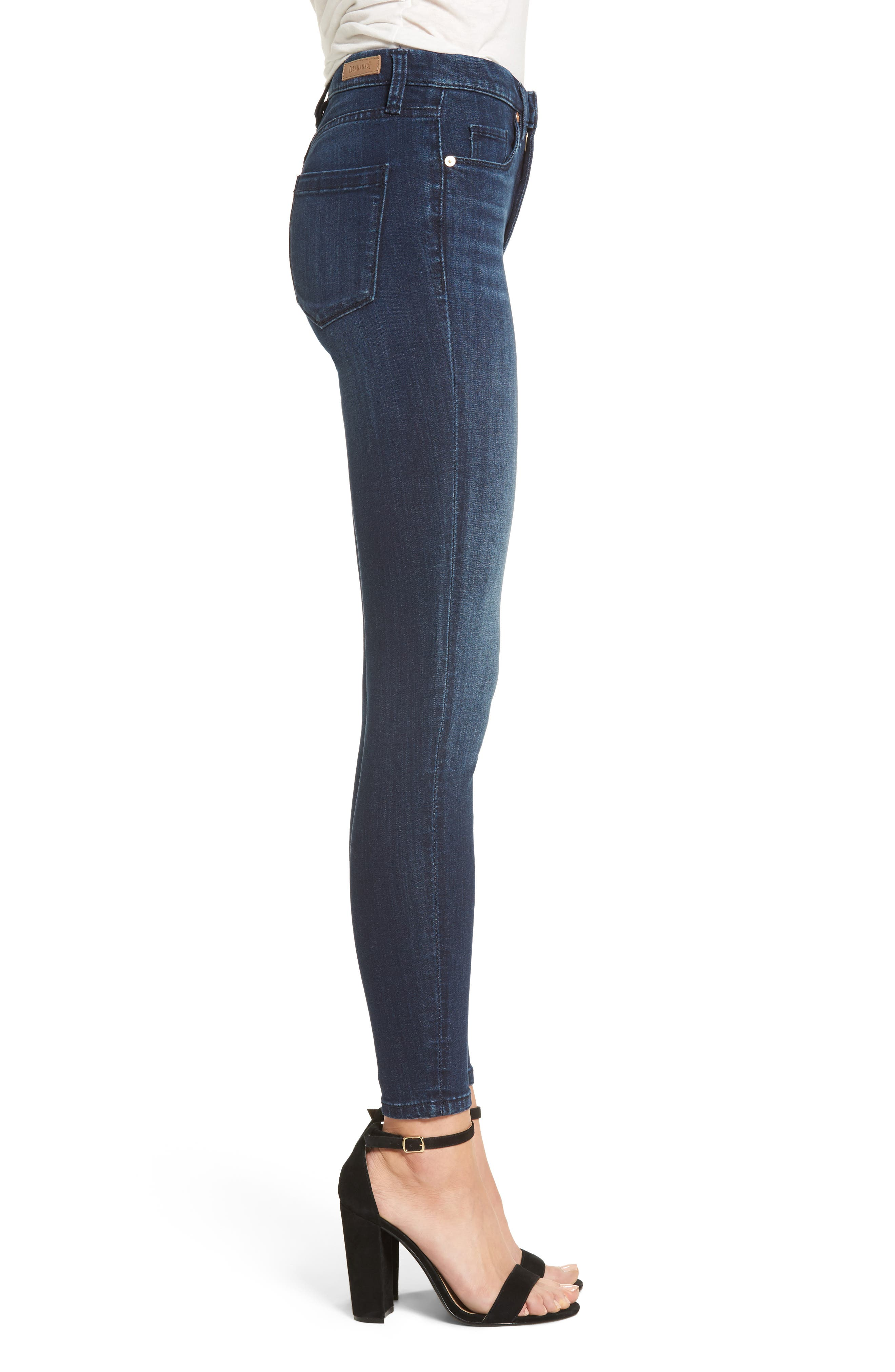 The Bond Stretch Skinny Jeans,                             Alternate thumbnail 3, color,                             400
