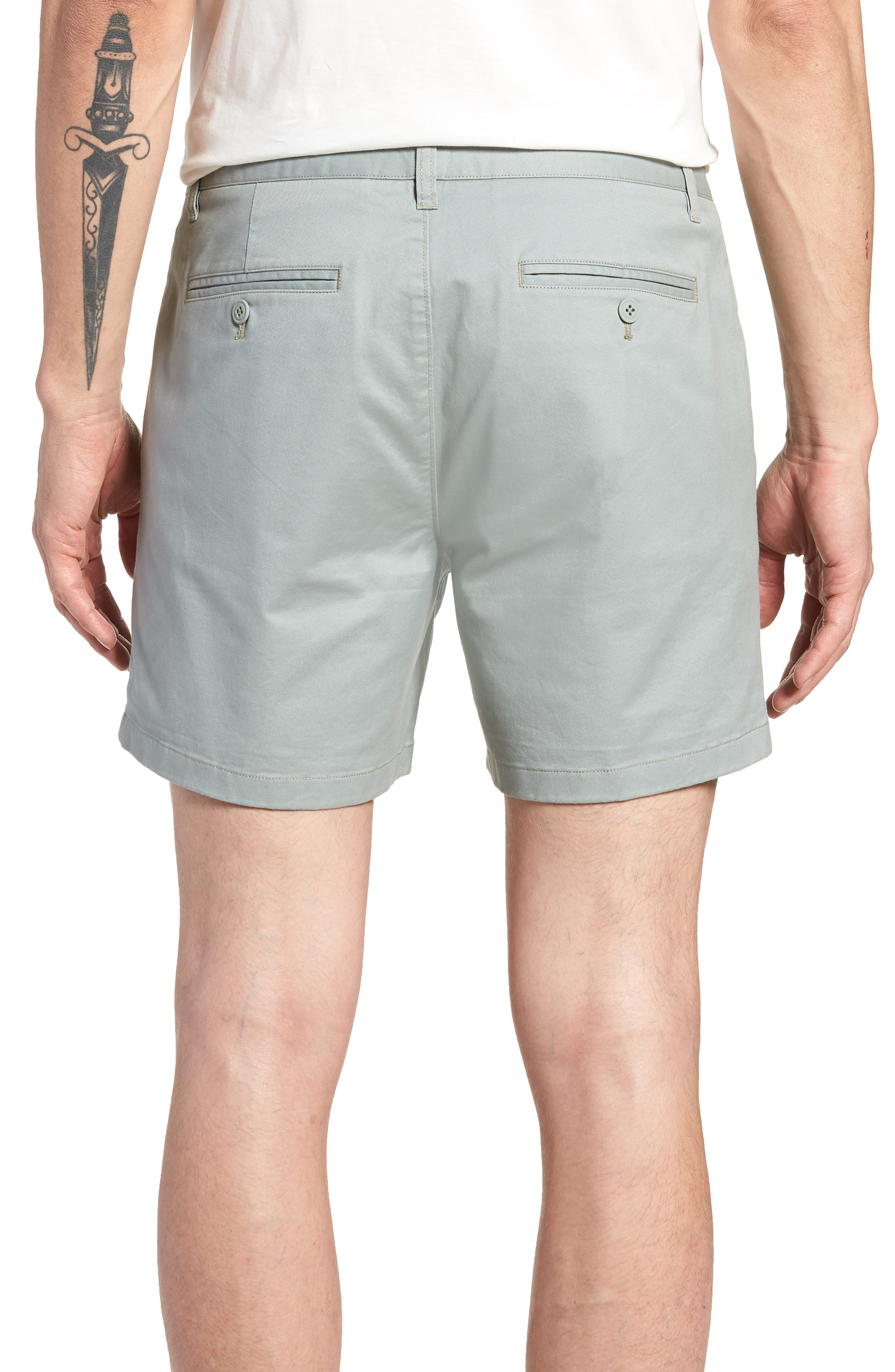 Stretch Washed Chino 5-Inch Shorts,                             Alternate thumbnail 35, color,