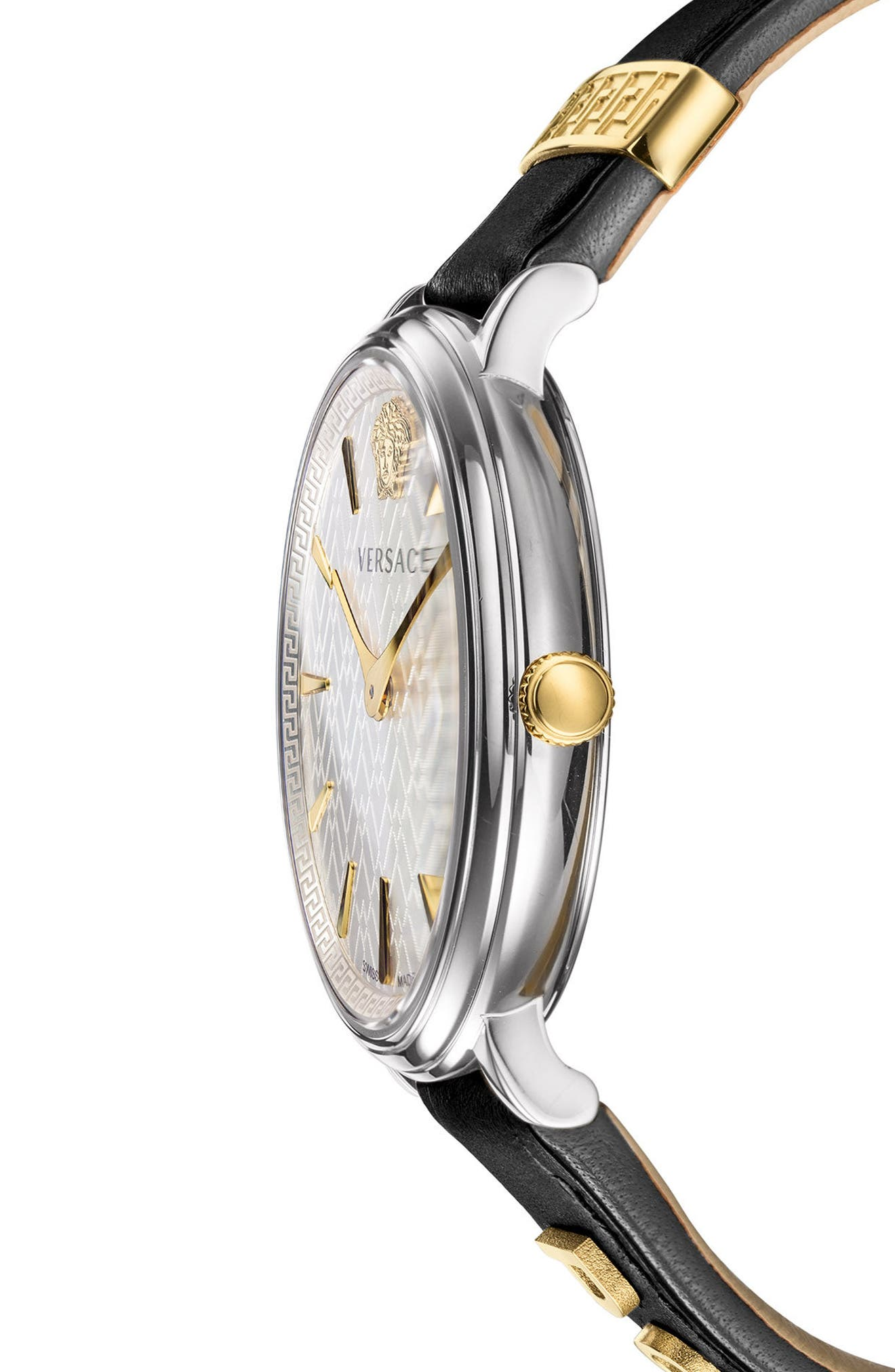Manifesto Leather Strap Watch, 38mm,                             Alternate thumbnail 11, color,