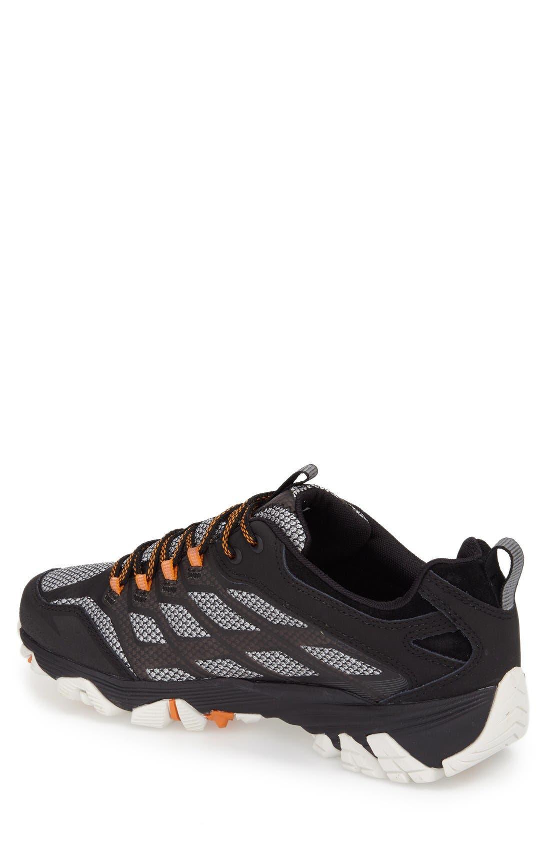 Moab FST Waterproof Hiking Shoe,                             Alternate thumbnail 2, color,                             001