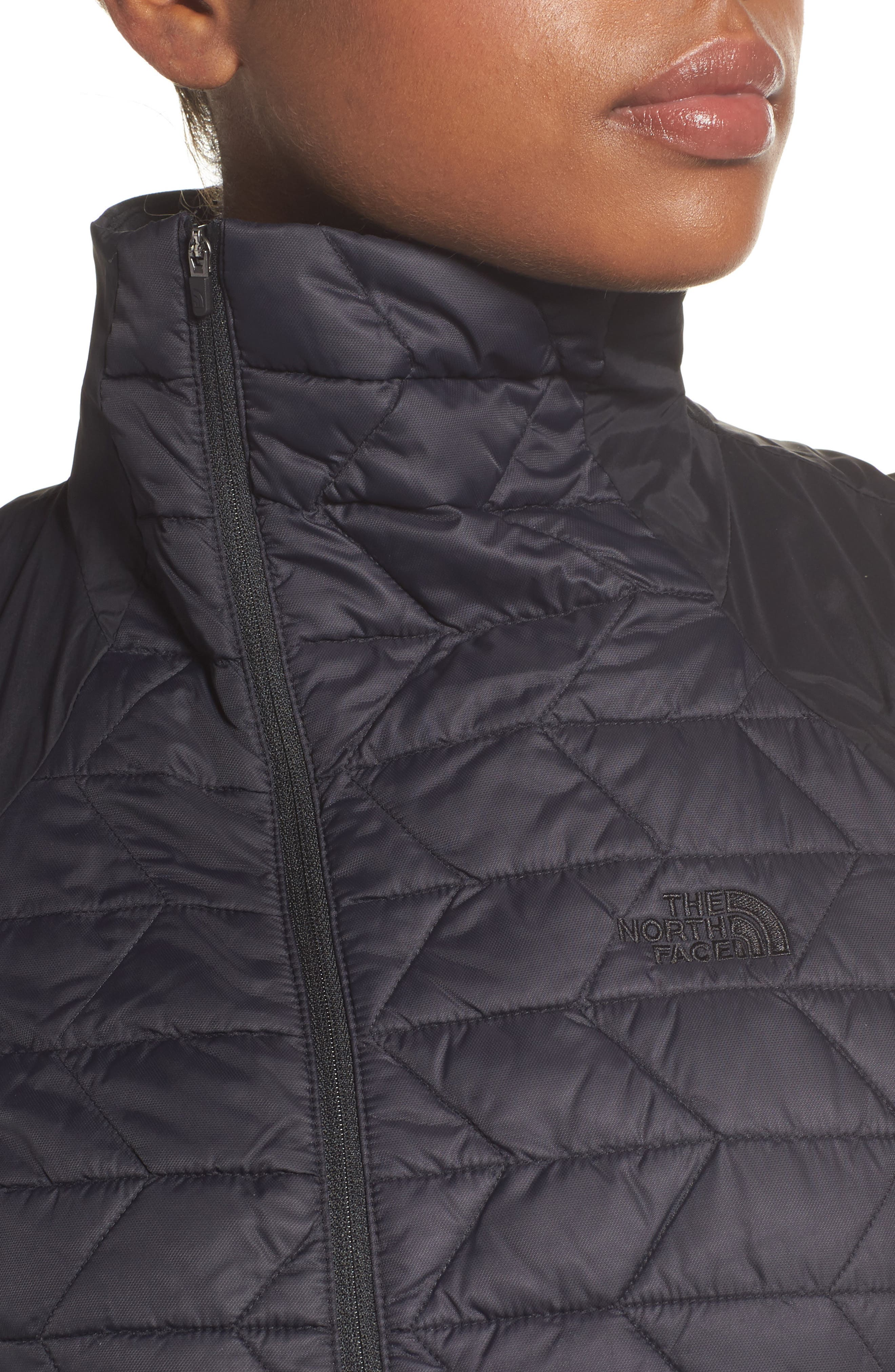 ThermoBall<sup>™</sup> Slim Fit Vest,                             Alternate thumbnail 4, color,                             001
