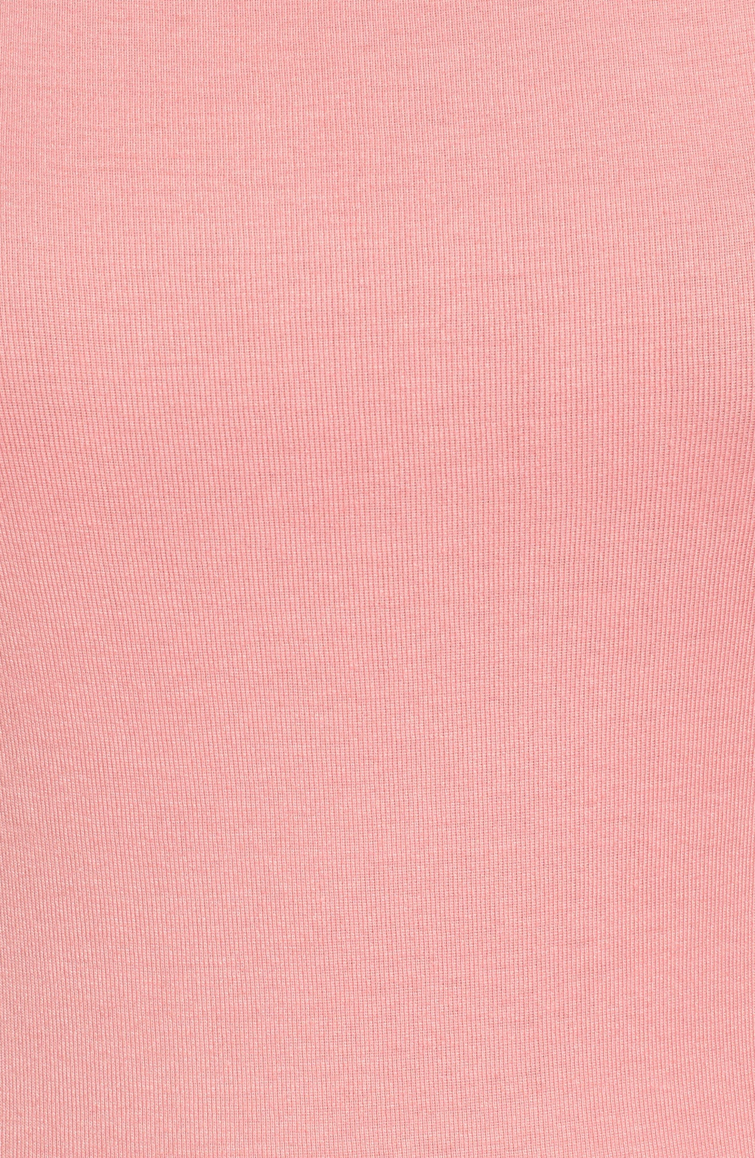 Three Quarter Sleeve Tee,                             Alternate thumbnail 95, color,