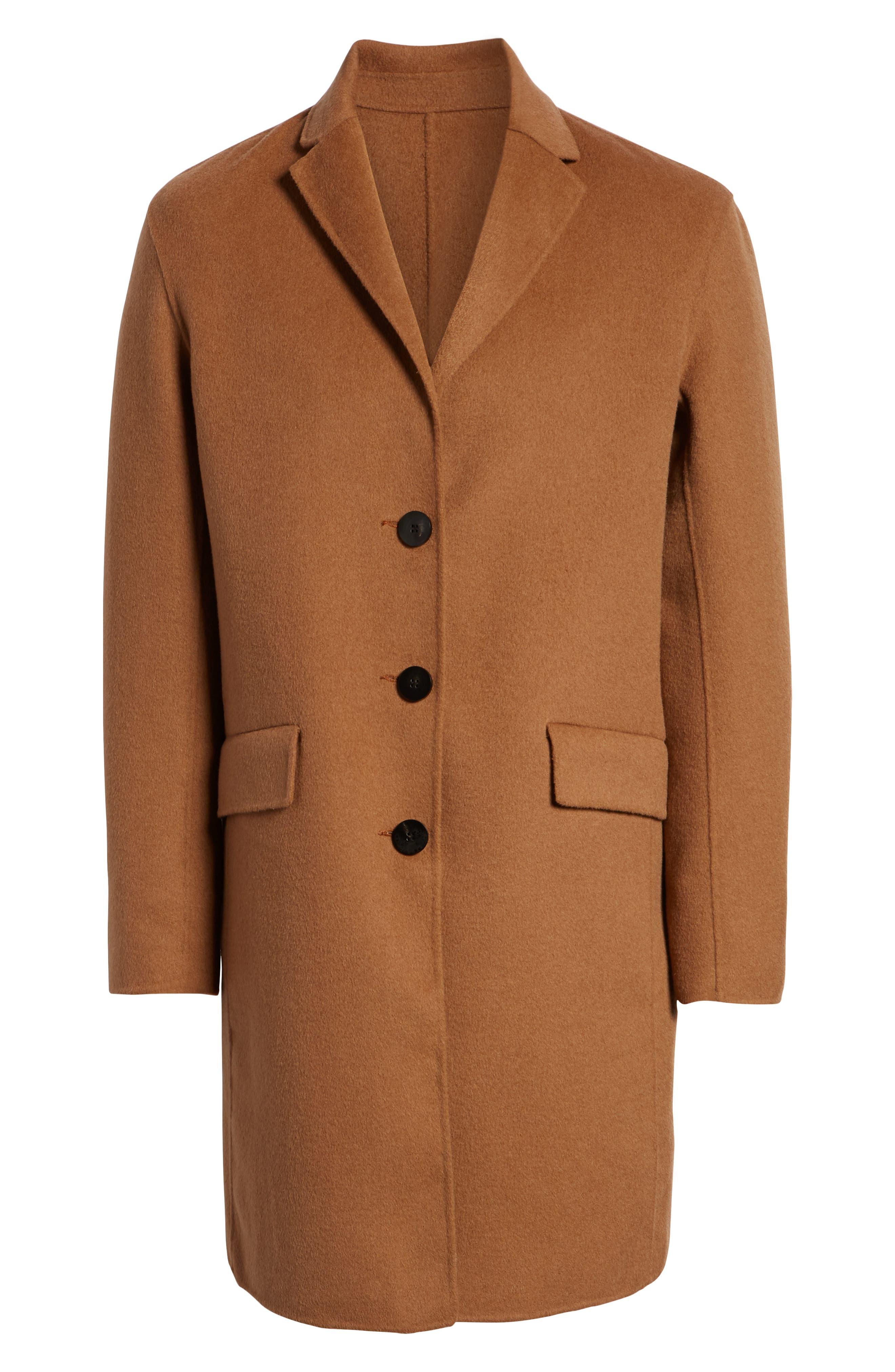 Wool Blend Topcoat,                             Alternate thumbnail 14, color,