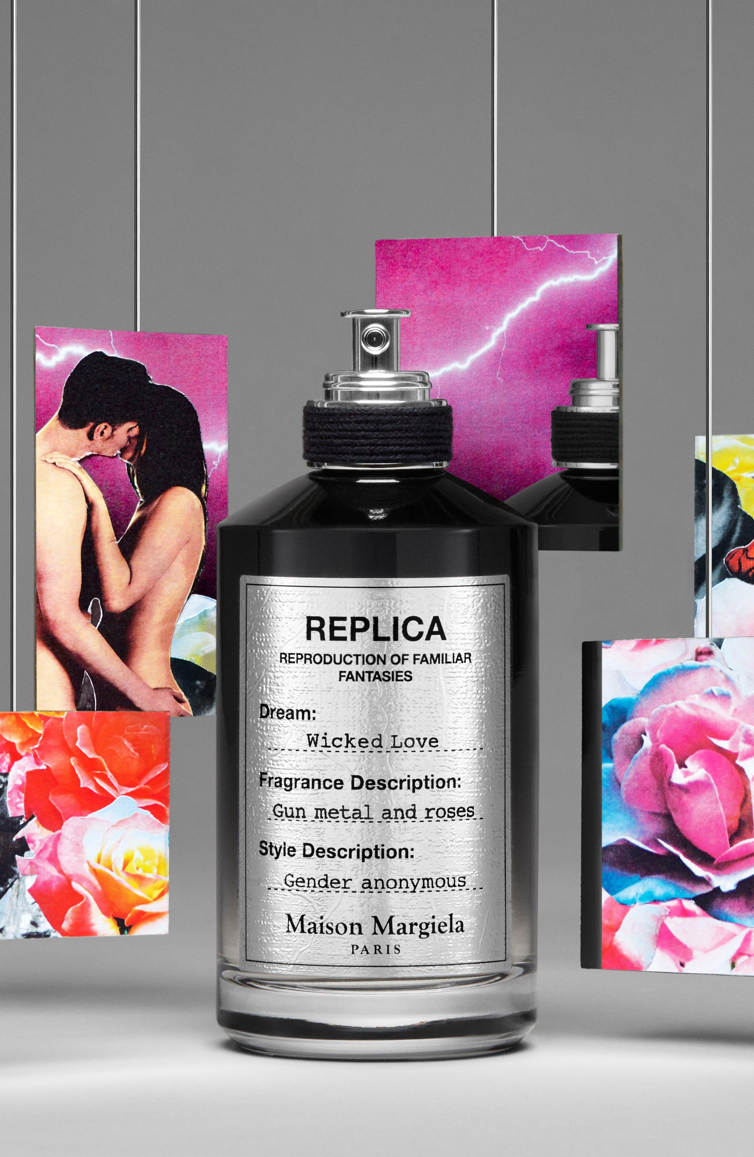 Replica Wicked Love Eau de Parfum,                             Alternate thumbnail 4, color,                             NO COLOR