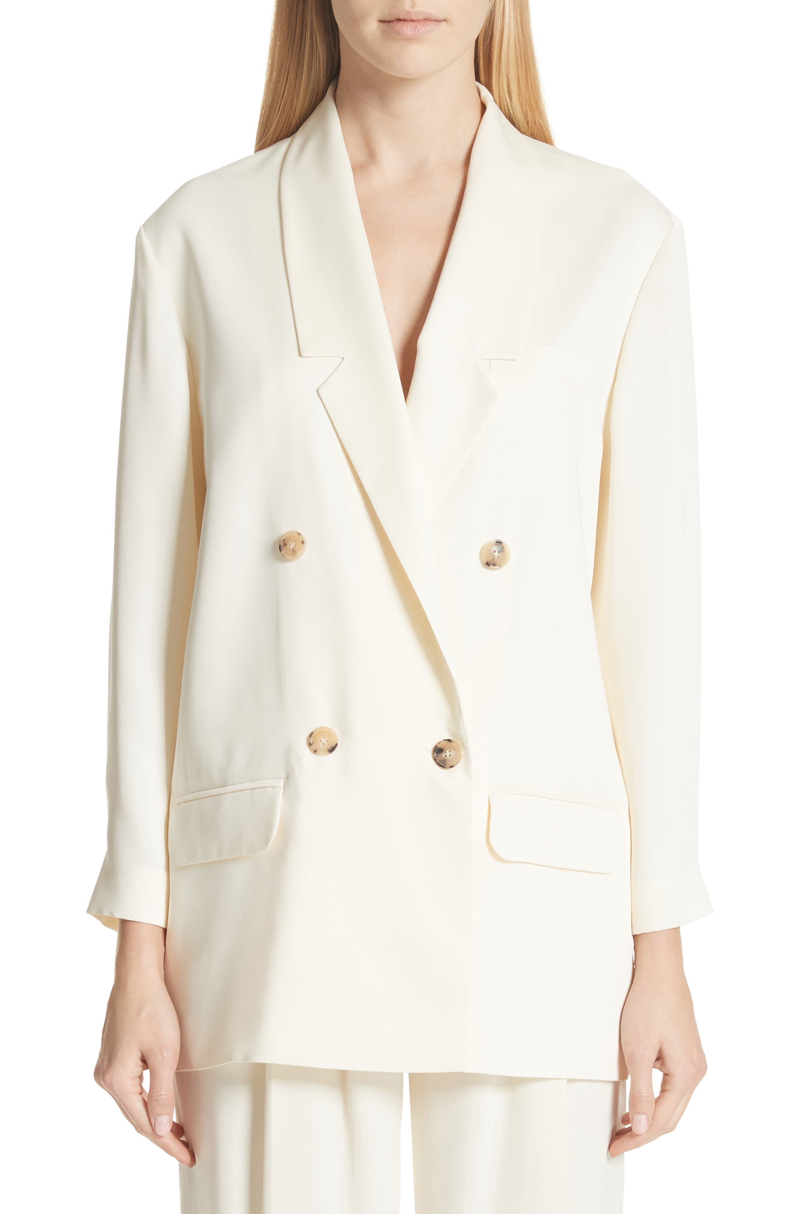 Double Breasted Blazer,                         Main,                         color,