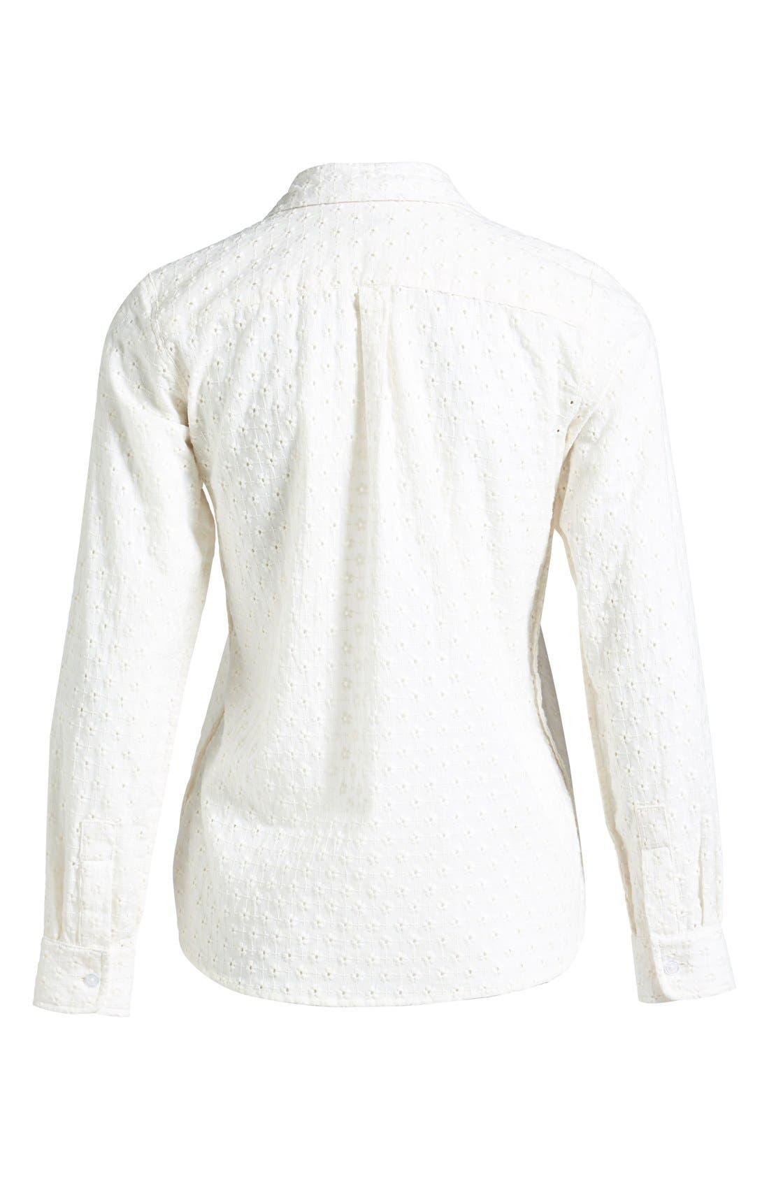 STEVEN ALAN,                             Reverse Seam Shirt,                             Alternate thumbnail 2, color,                             100