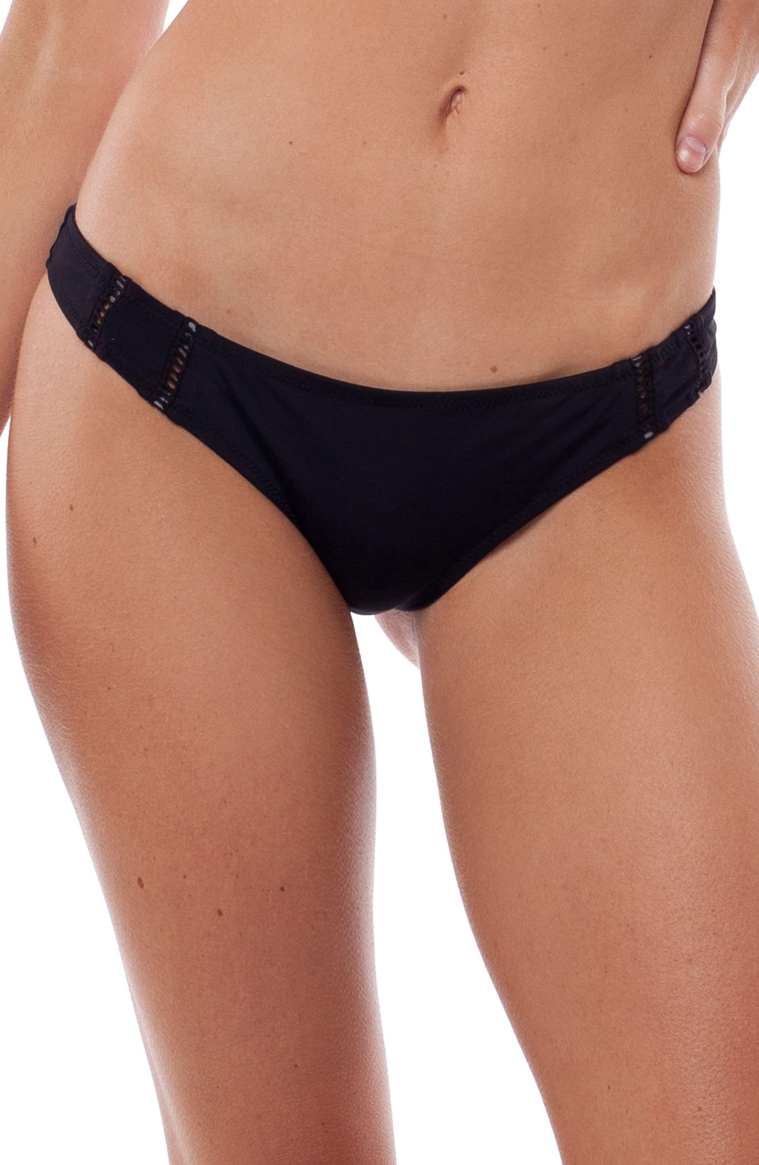 My Brazil Bikini Bottoms,                             Main thumbnail 1, color,                             BLACK