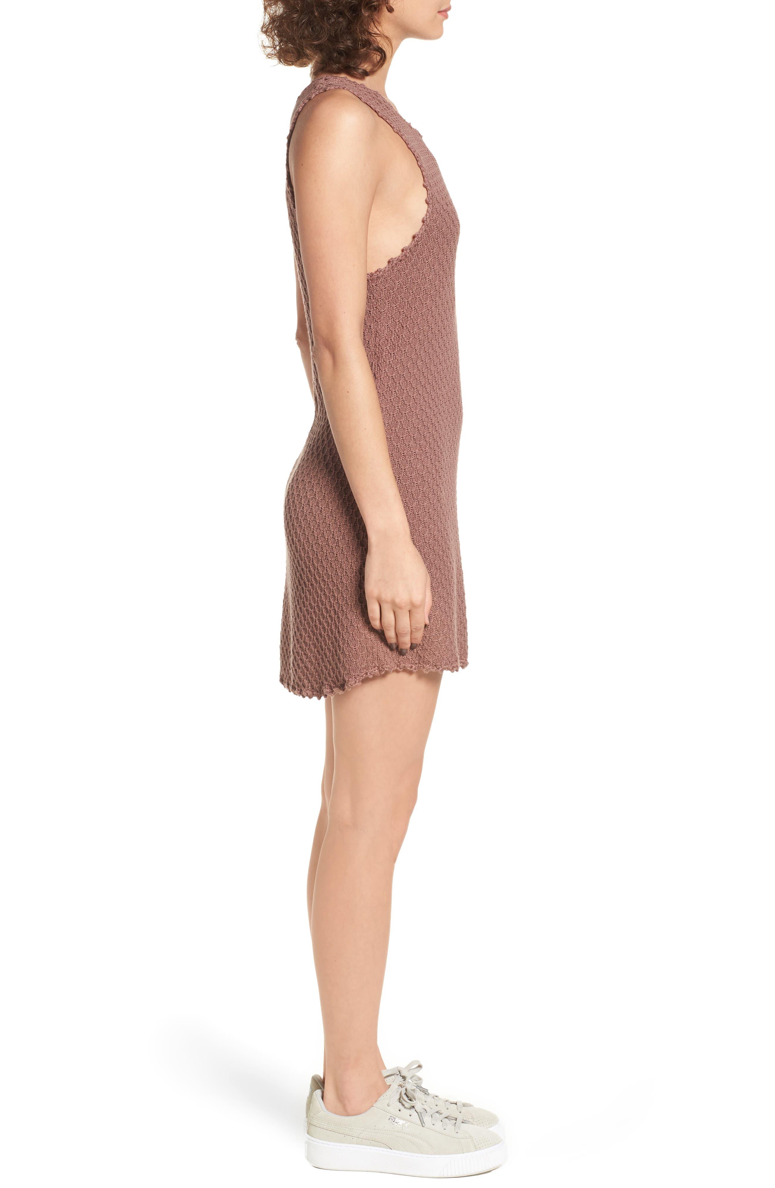 Juno Knit Dress,                             Alternate thumbnail 3, color,                             200