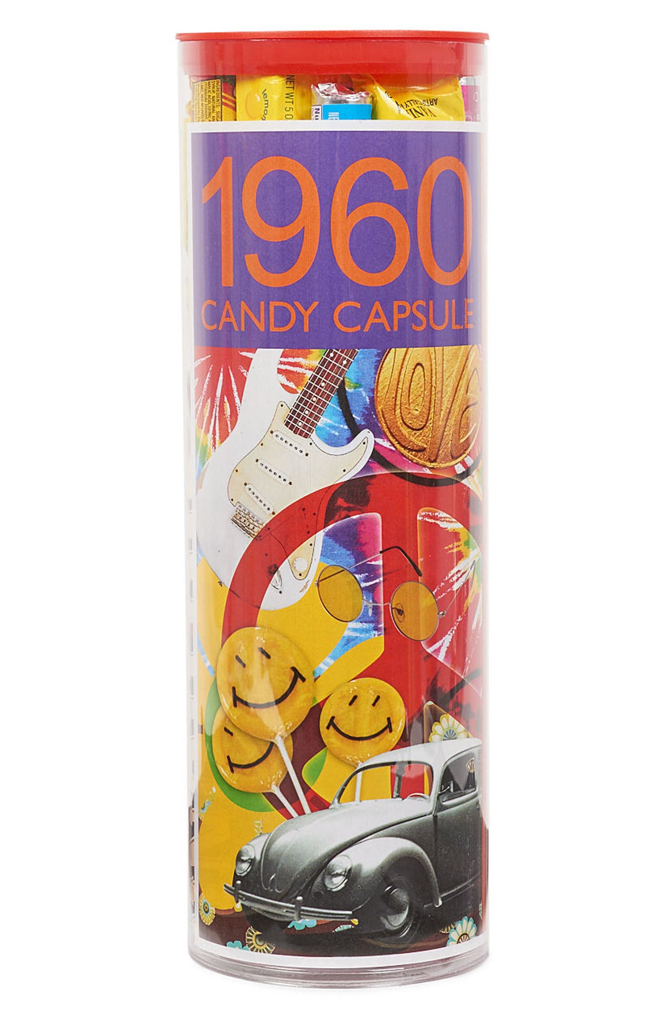 DYLAN'S CANDY BAR,                             1960s Time Capsule Gift Set,                             Main thumbnail 1, color,                             PURPLE