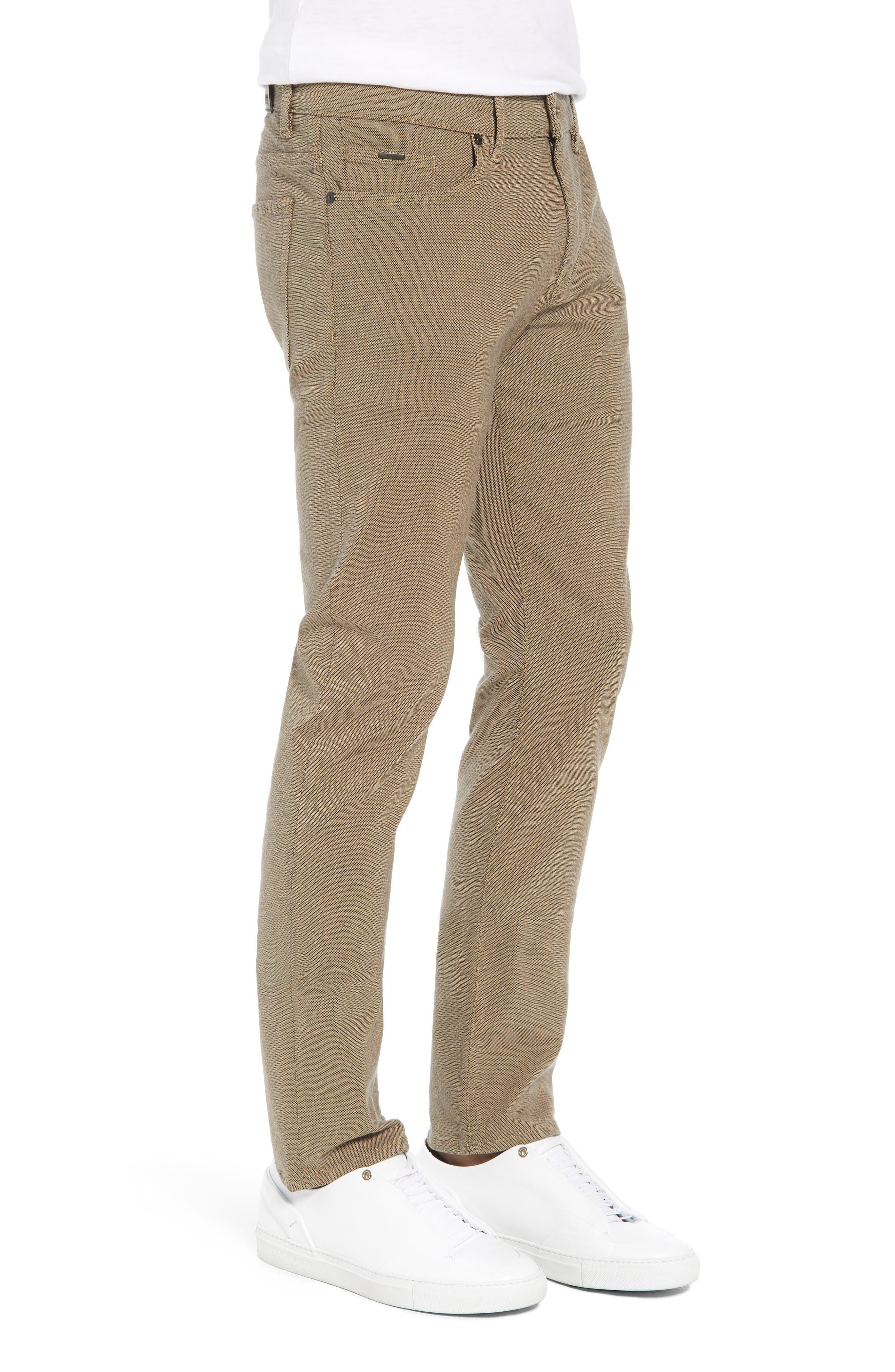 Delaware Slim Fit Pants,                             Alternate thumbnail 3, color,                             TAN