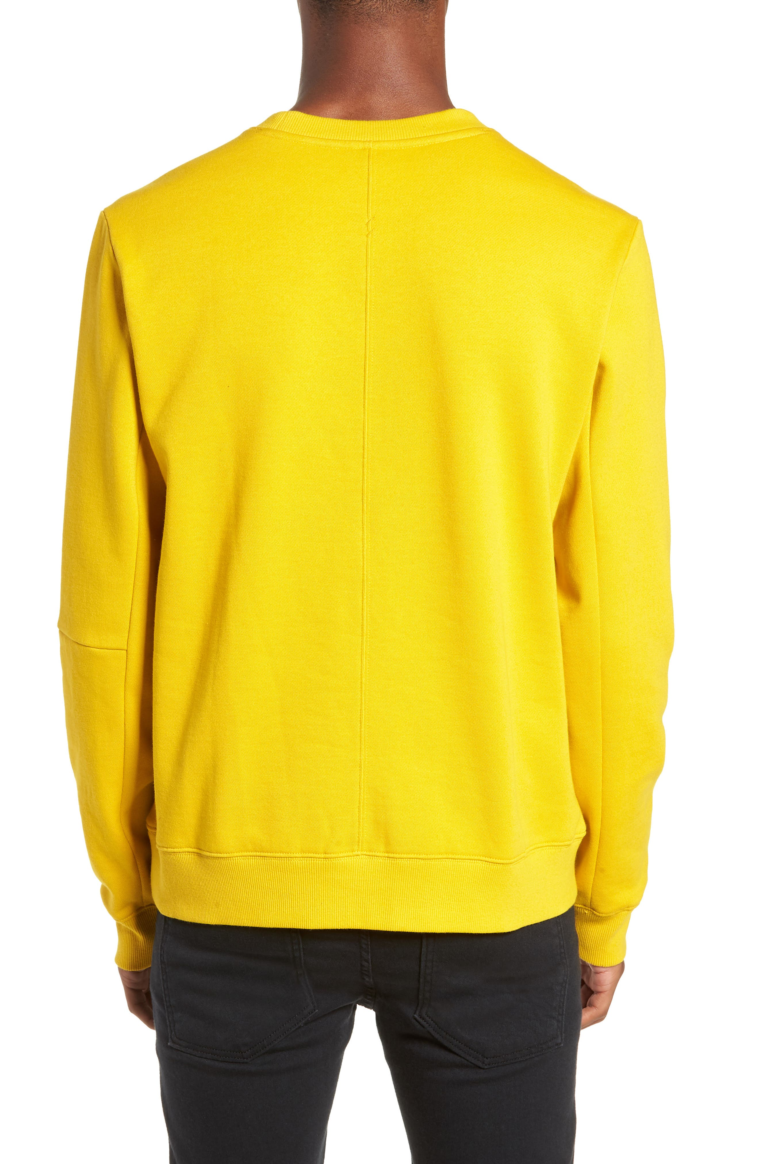 Loma Sweatshirt,                             Alternate thumbnail 2, color,                             MUSTARD YELLOW