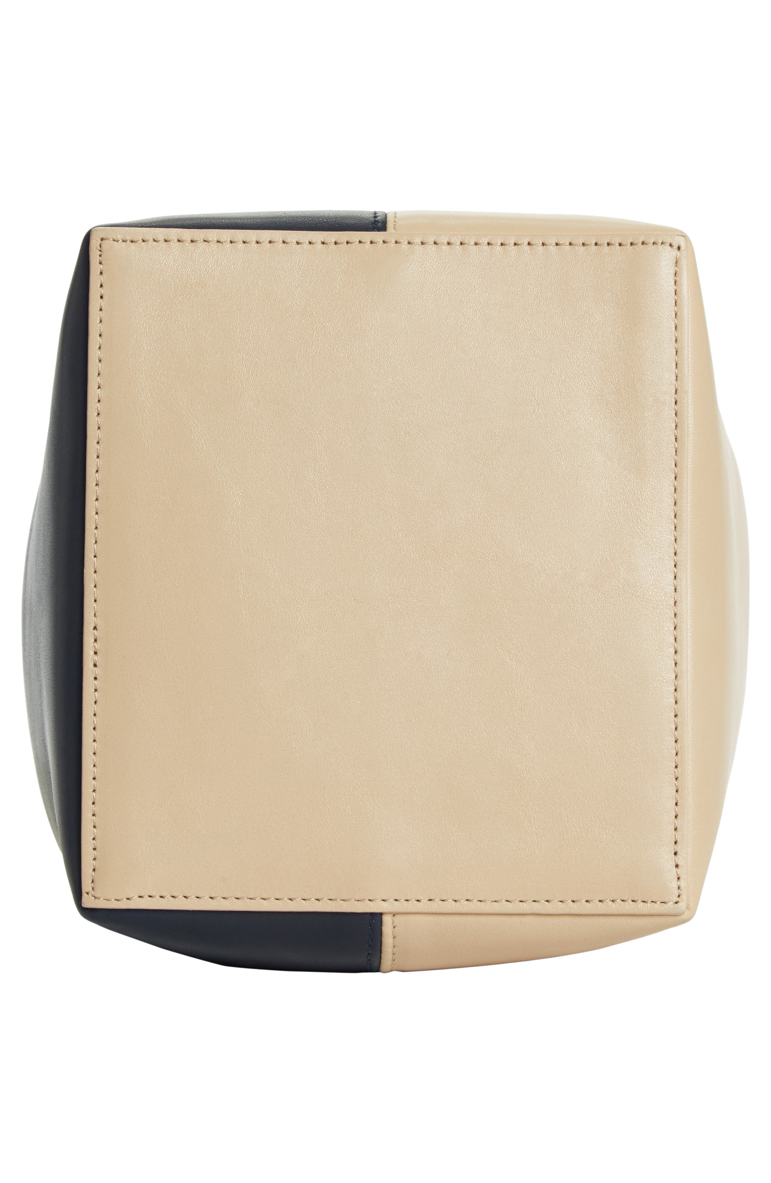 Small Apple Tricolor Leather Bag,                             Alternate thumbnail 6, color,                             250