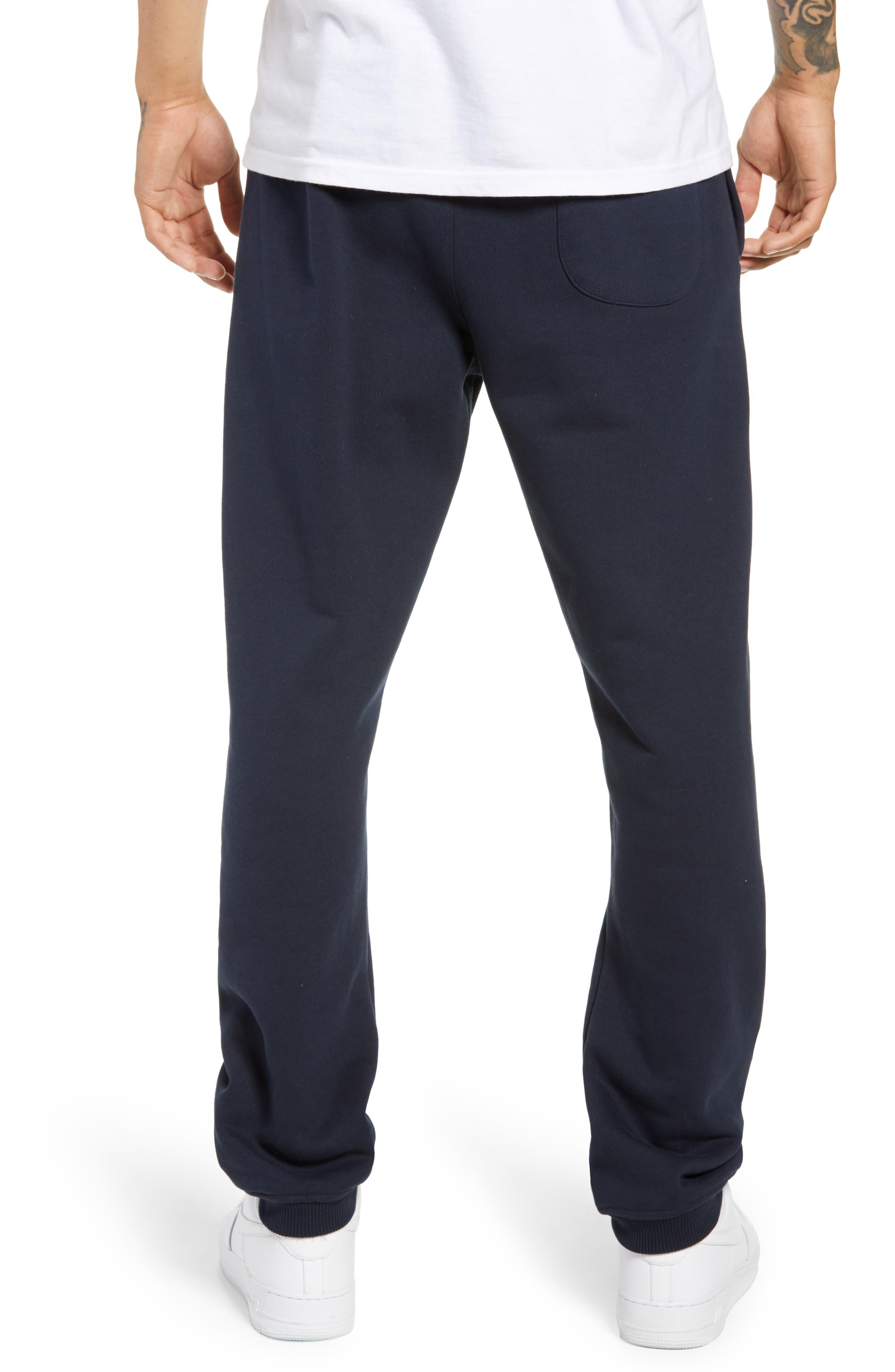Embroidered Crest Sweatpants,                             Alternate thumbnail 2, color,                             DARK SAPPHIRE