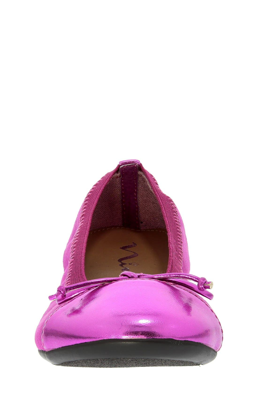 'Flower' Ballerina Flat,                             Alternate thumbnail 4, color,                             693