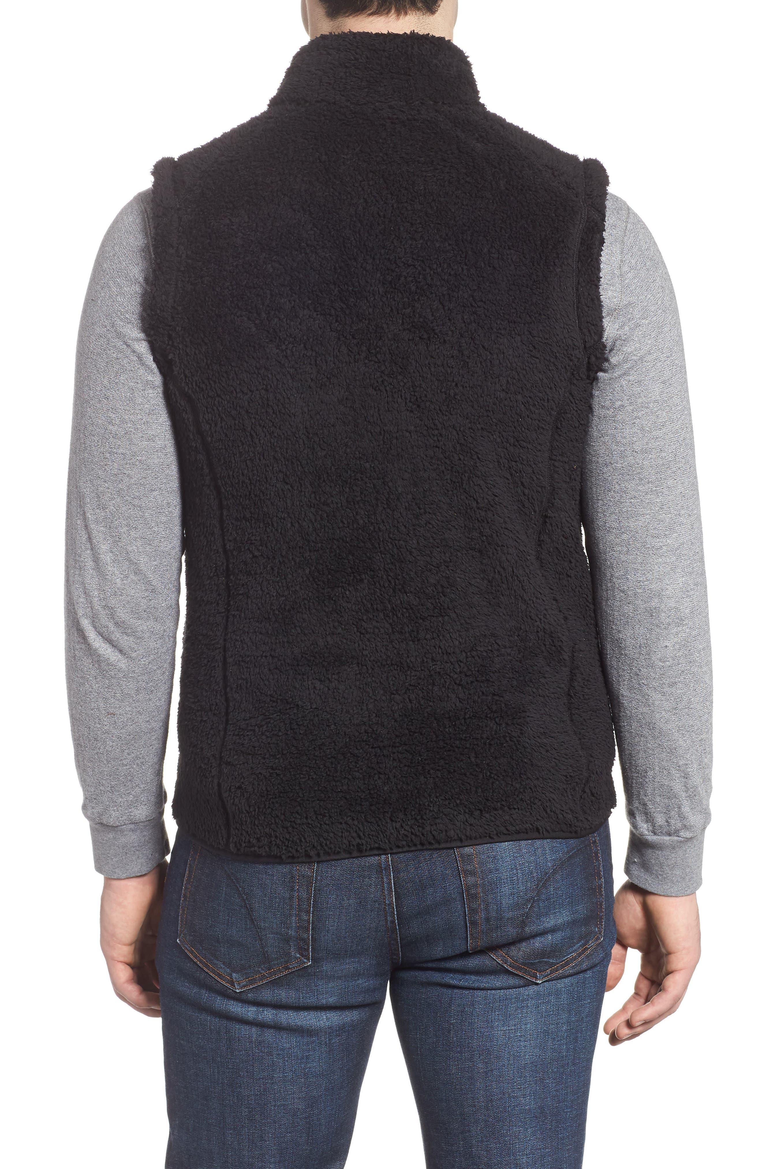 Los Gatos Fleece Vest,                             Alternate thumbnail 2, color,                             BLACK