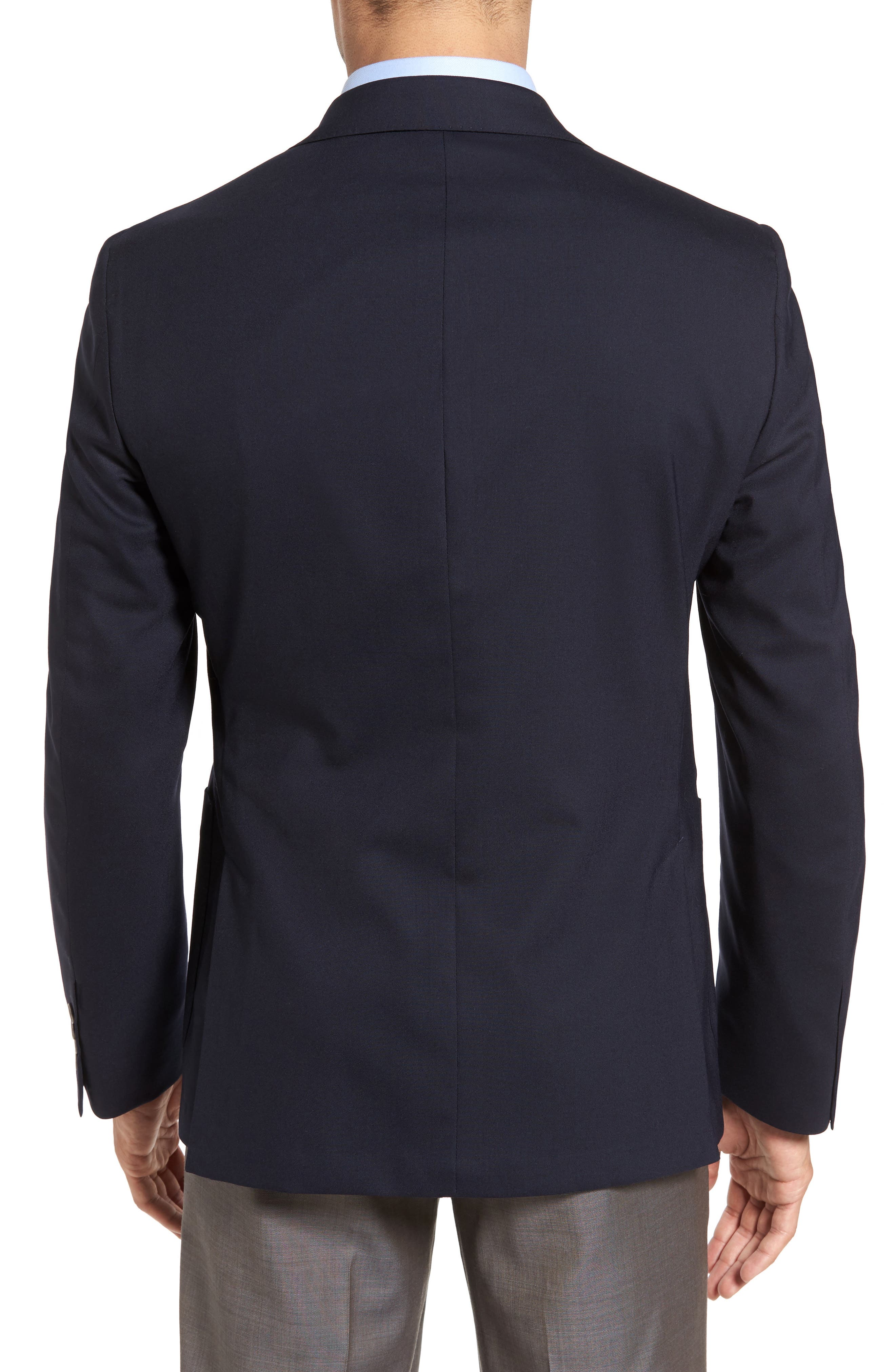 Classic Fit Stretch Wool Travel Blazer,                             Alternate thumbnail 2, color,                             410