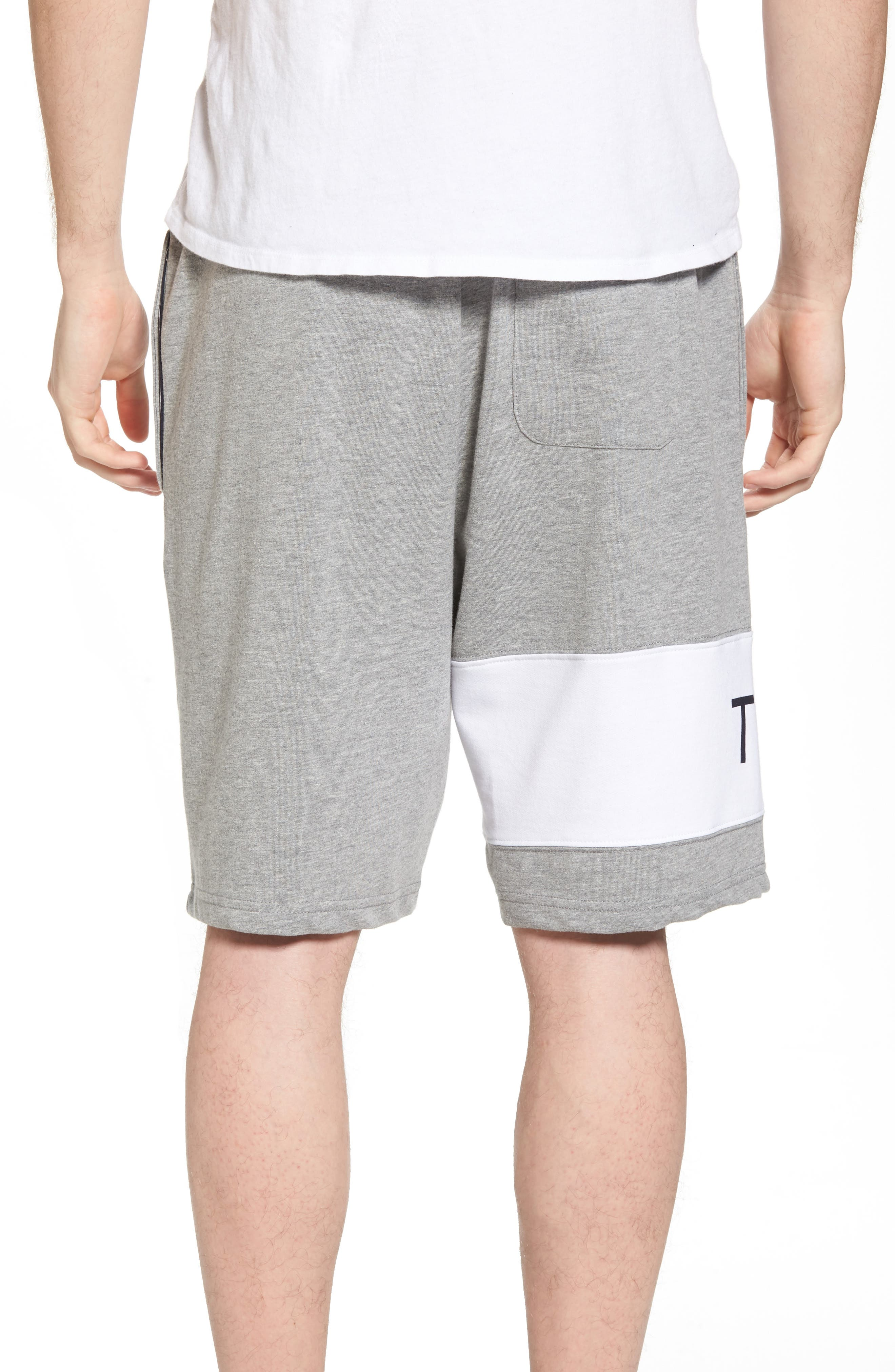 TOMMY HILFIGER,                             Lounge Shorts,                             Alternate thumbnail 2, color,                             GREY HEATHER