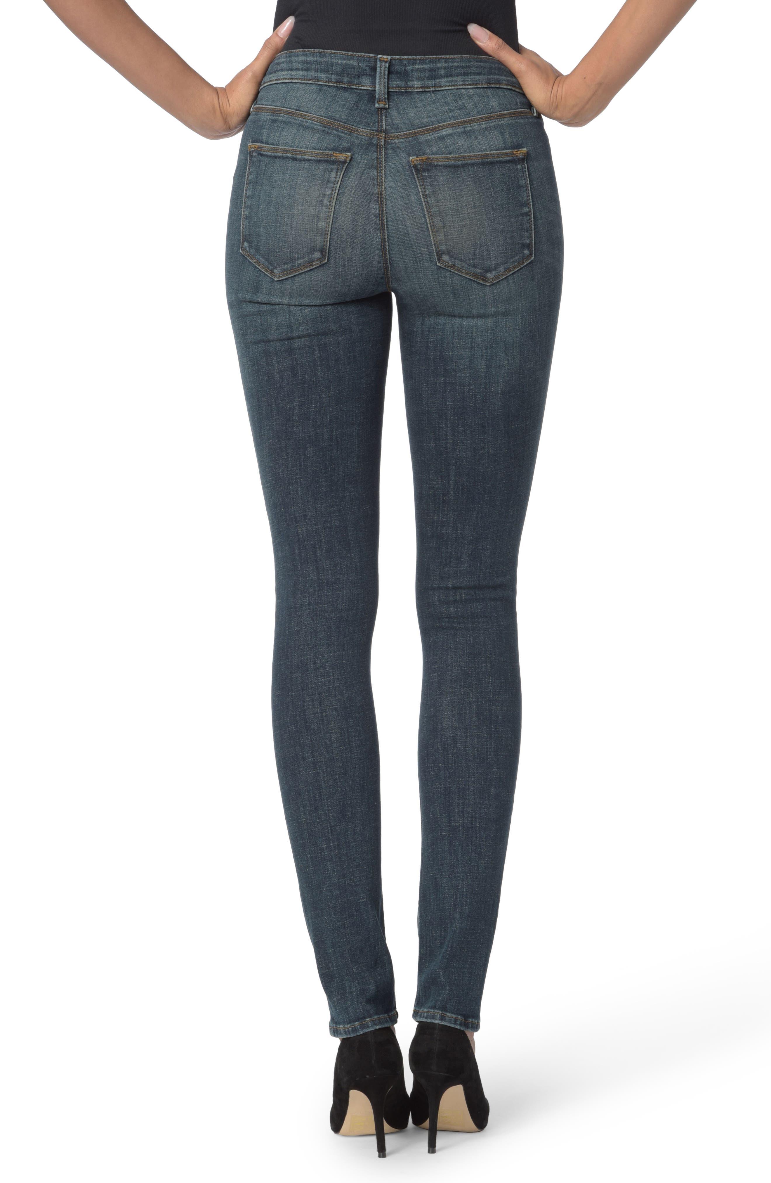 Parker Stretch Slim Leg Jeans,                             Alternate thumbnail 2, color,