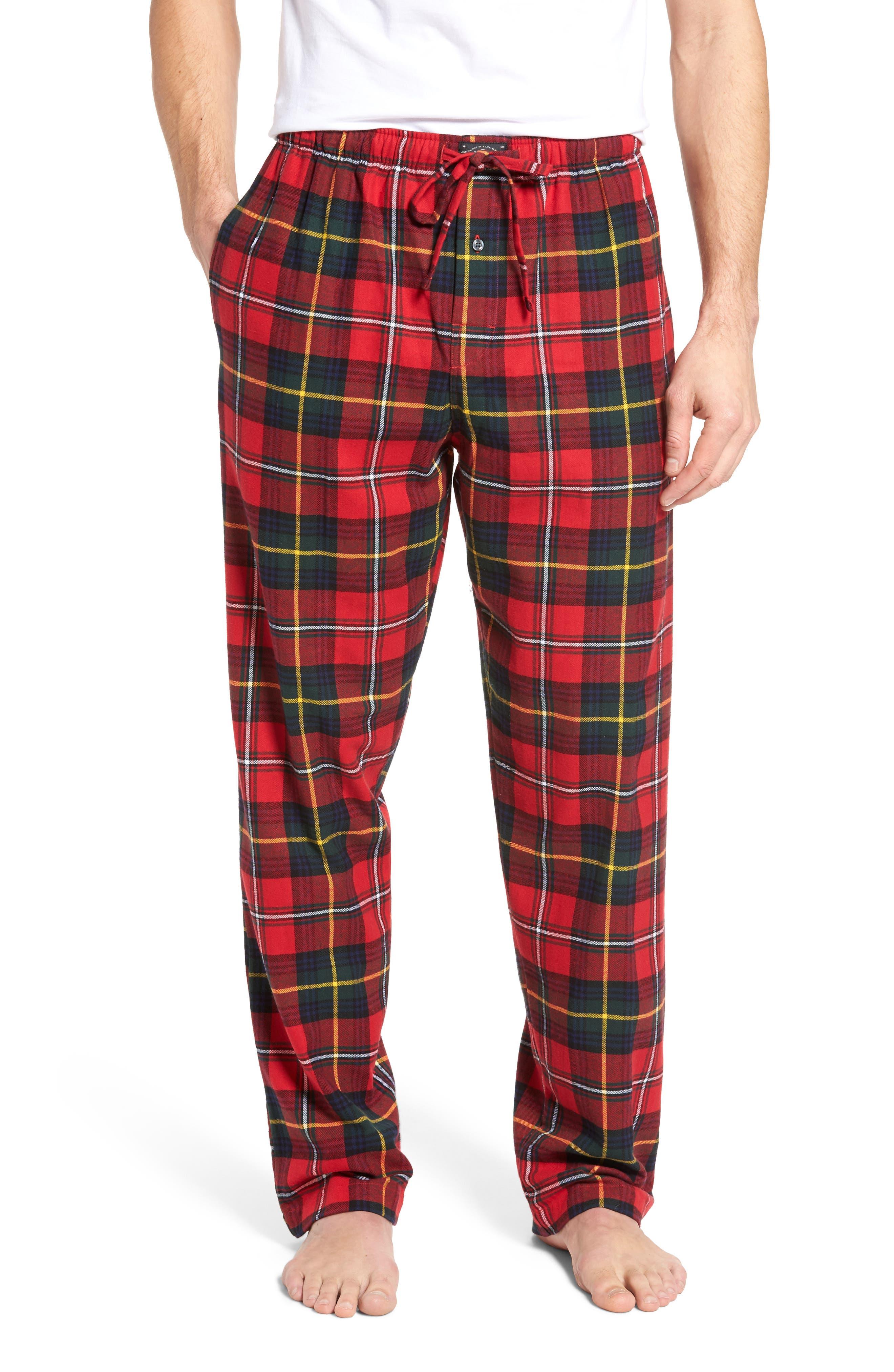 Flannel Pajama Pants,                             Main thumbnail 13, color,