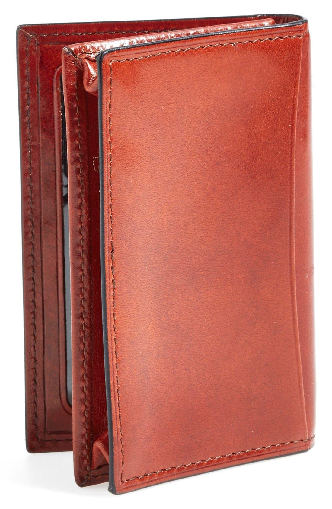 'Old Leather' Gusset Wallet,                             Alternate thumbnail 2, color,                             COGNAC
