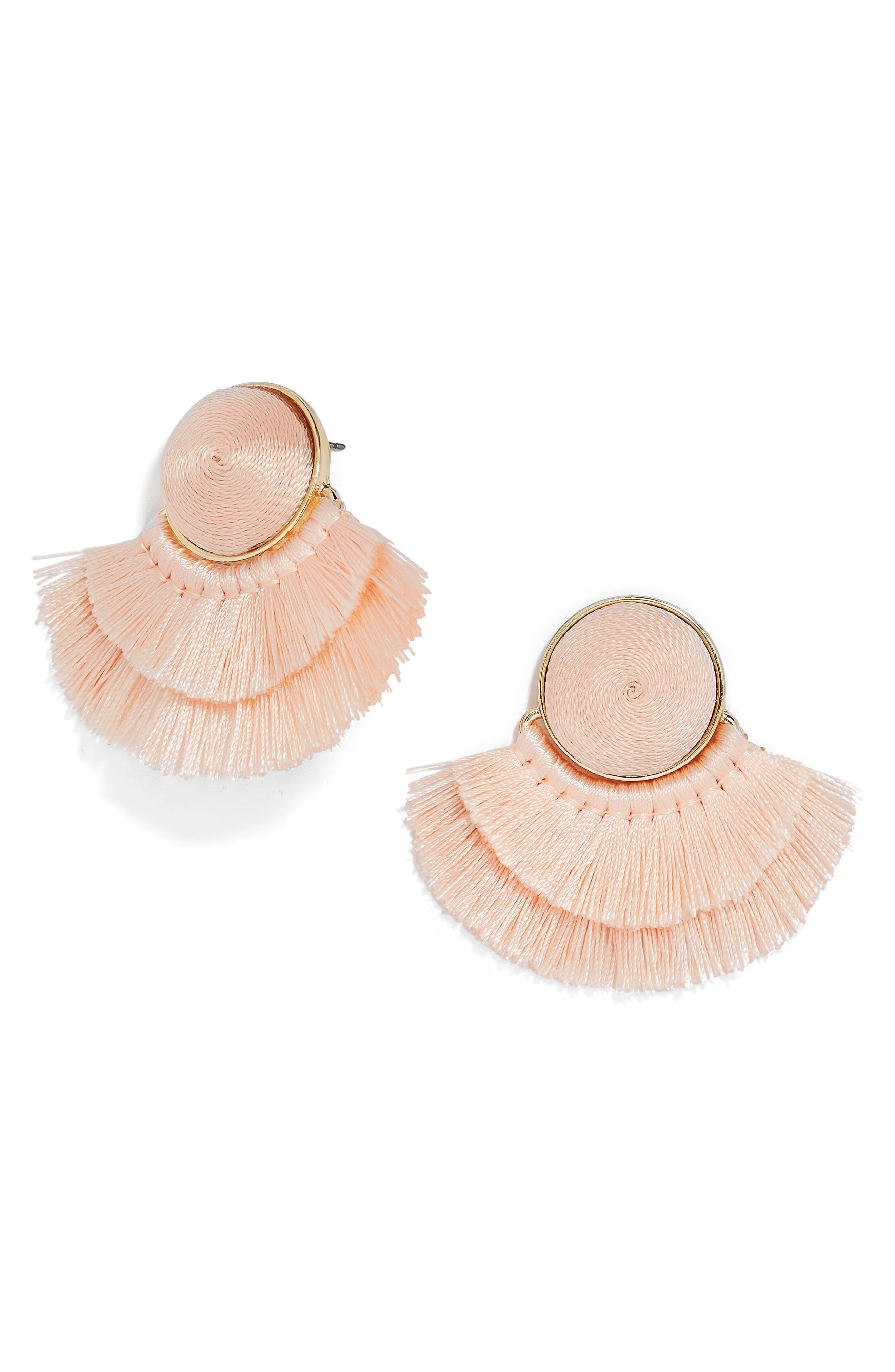 Martina Chubby Deco Fringe Drop Earrings,                             Main thumbnail 2, color,