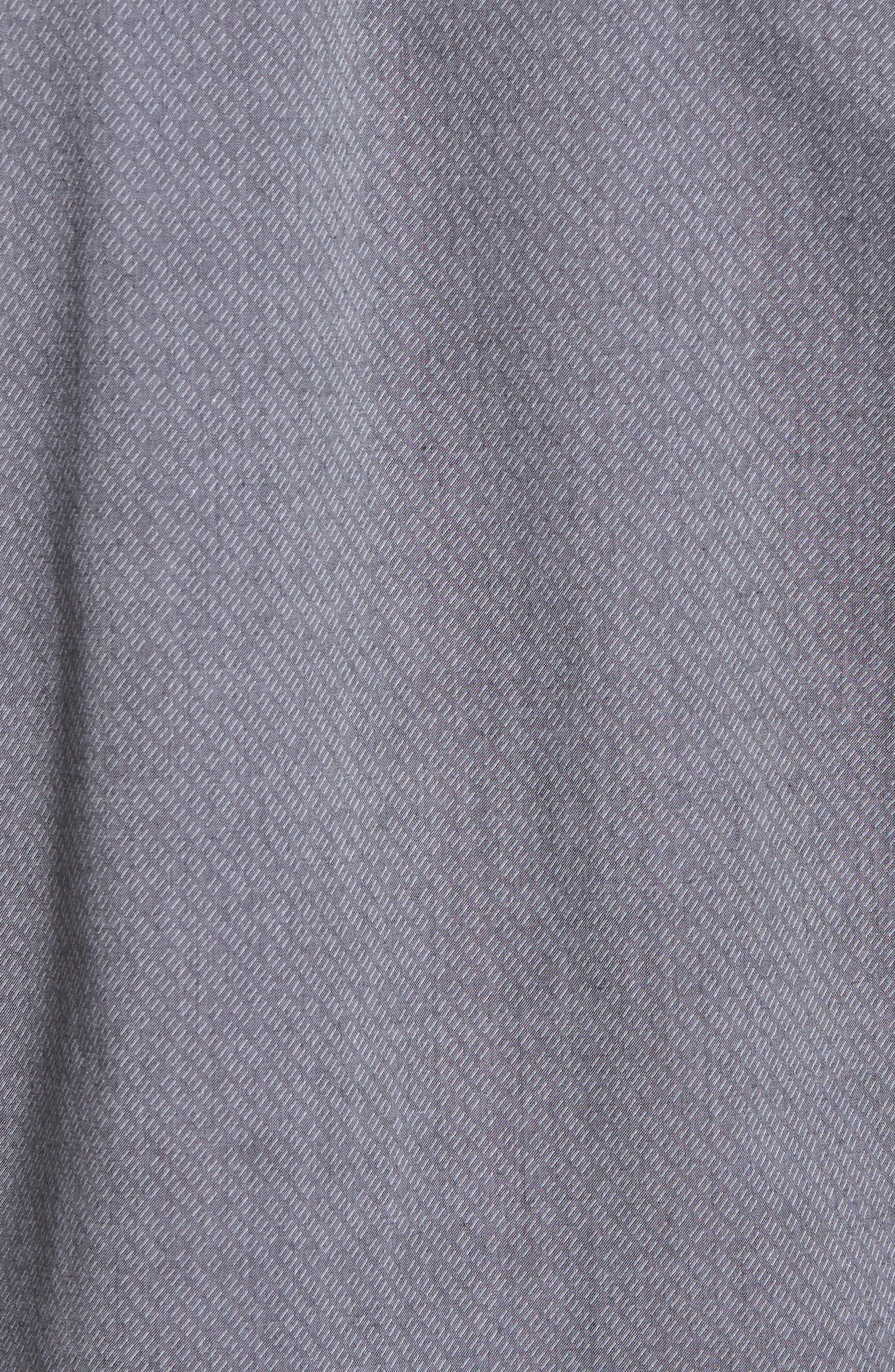 Storm Trim Fit Solid Sport Shirt,                             Alternate thumbnail 5, color,