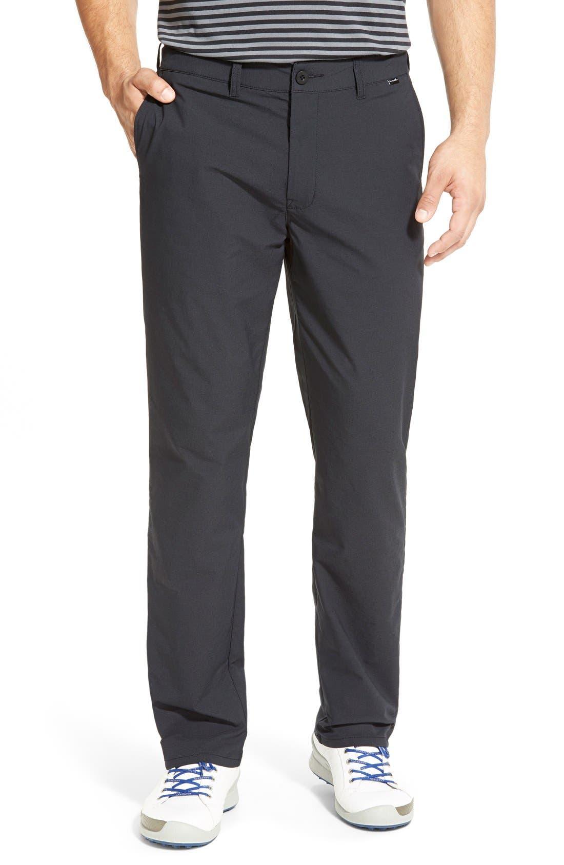 'Hough' Trim Fit Golf Pants,                             Main thumbnail 1, color,                             001