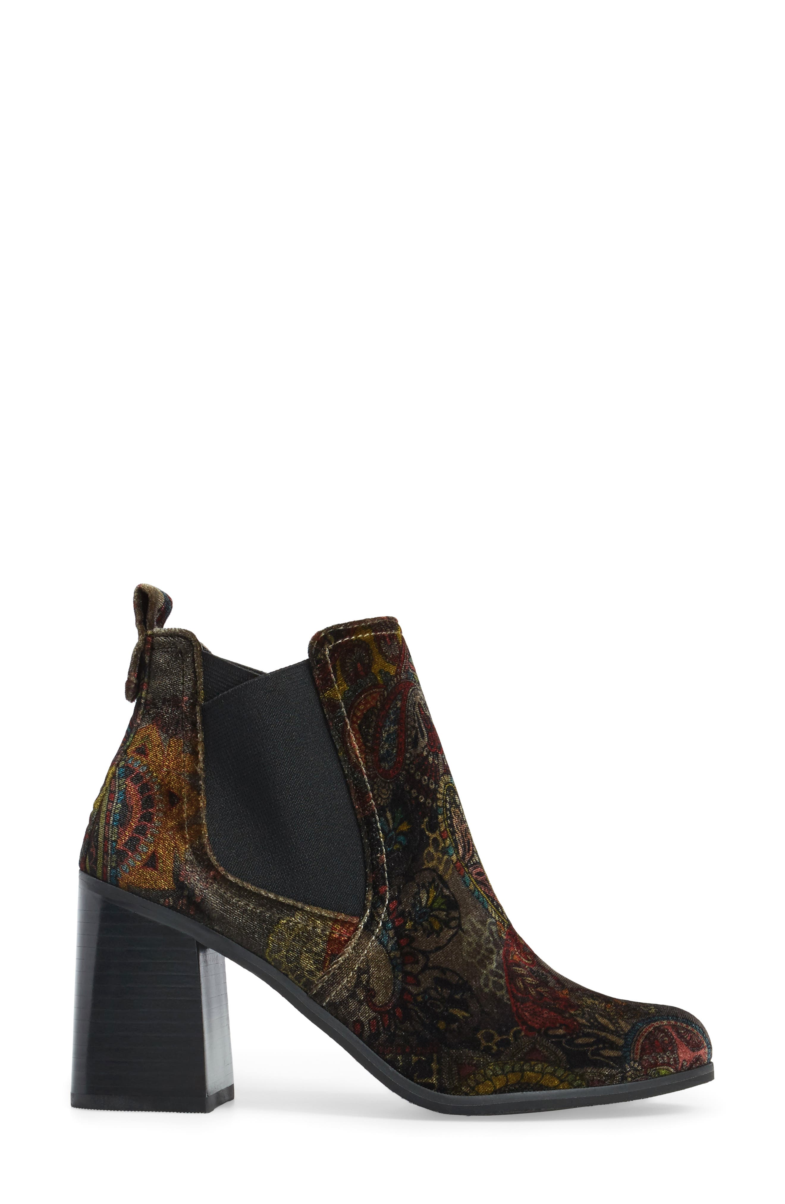 Quinn Flared Heel Chelsea Bootie,                             Alternate thumbnail 14, color,