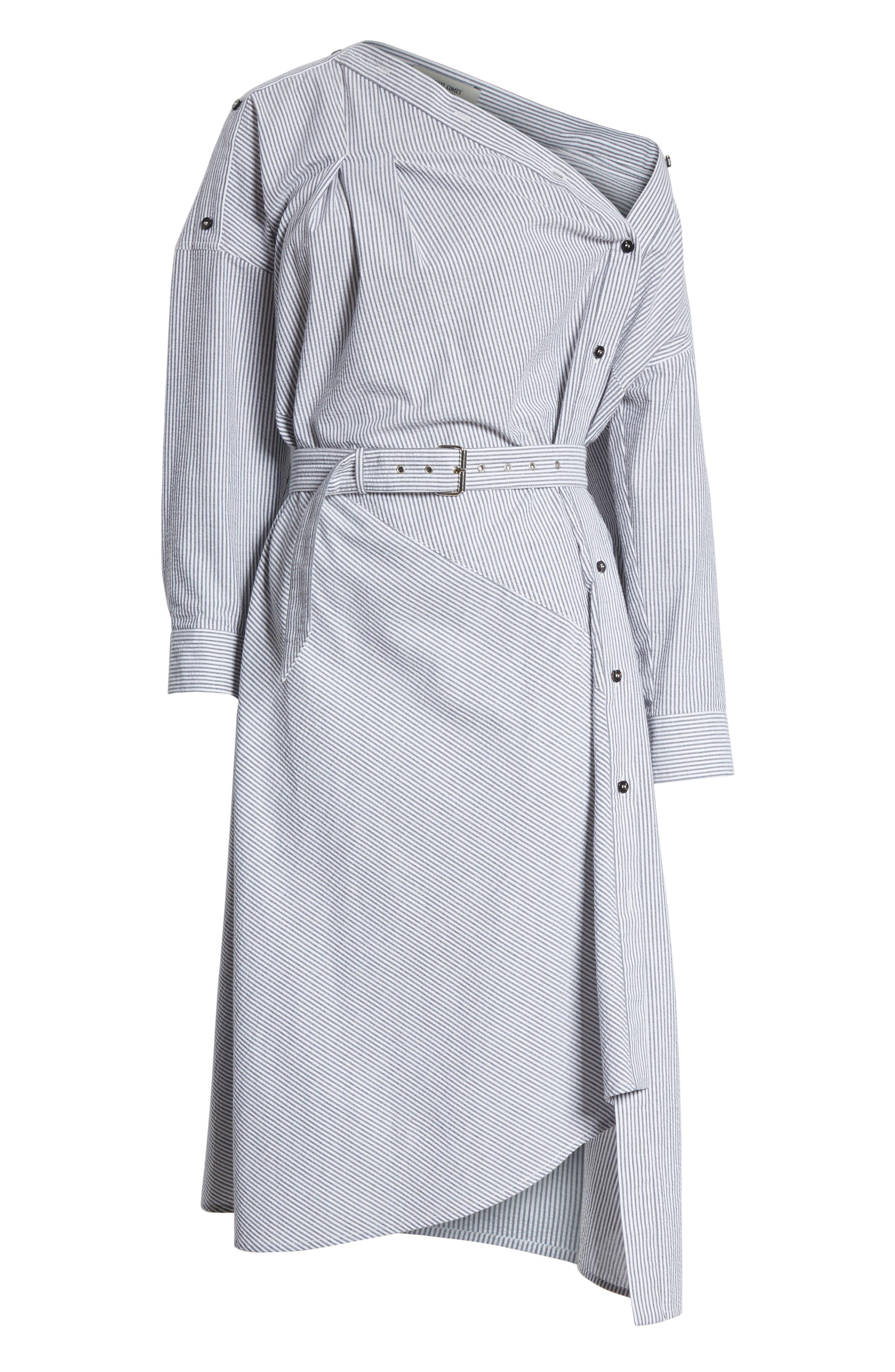 Welcome Asymmetrical Dress,                             Alternate thumbnail 6, color,                             001