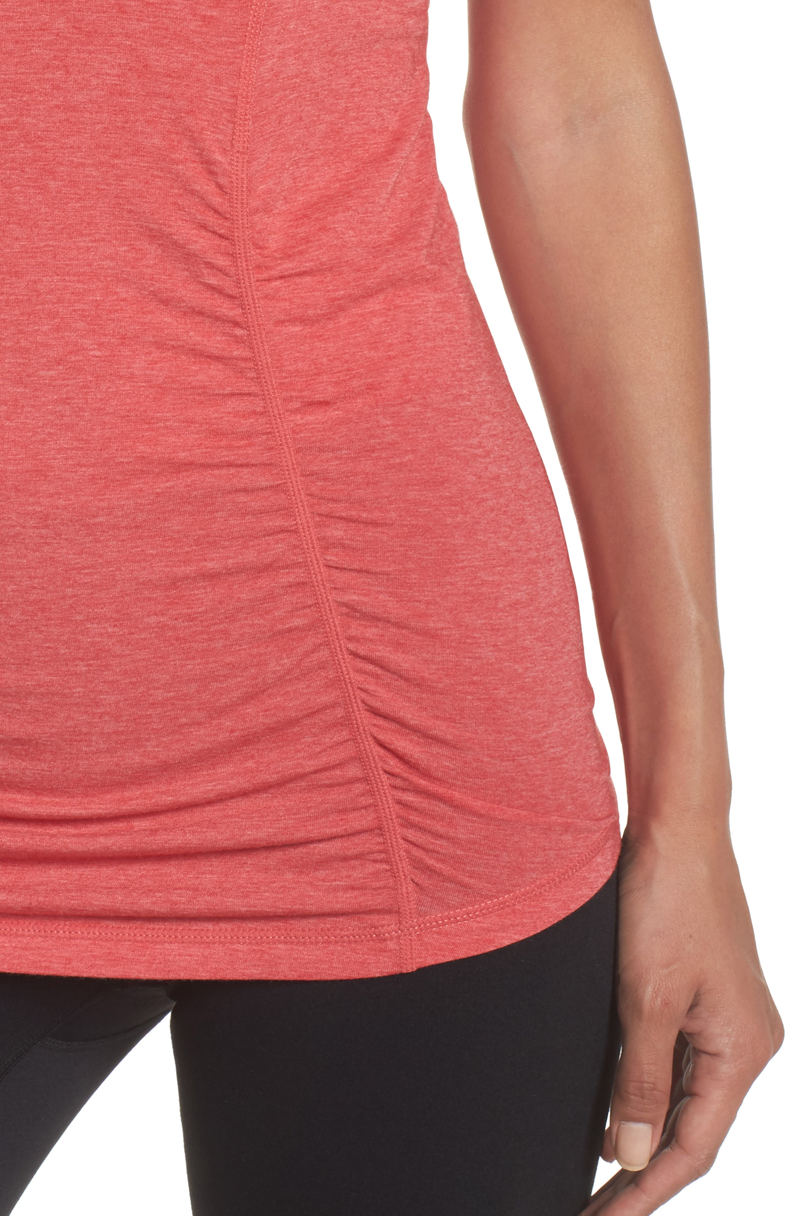 'Z 6' Ruched Tee,                             Alternate thumbnail 60, color,