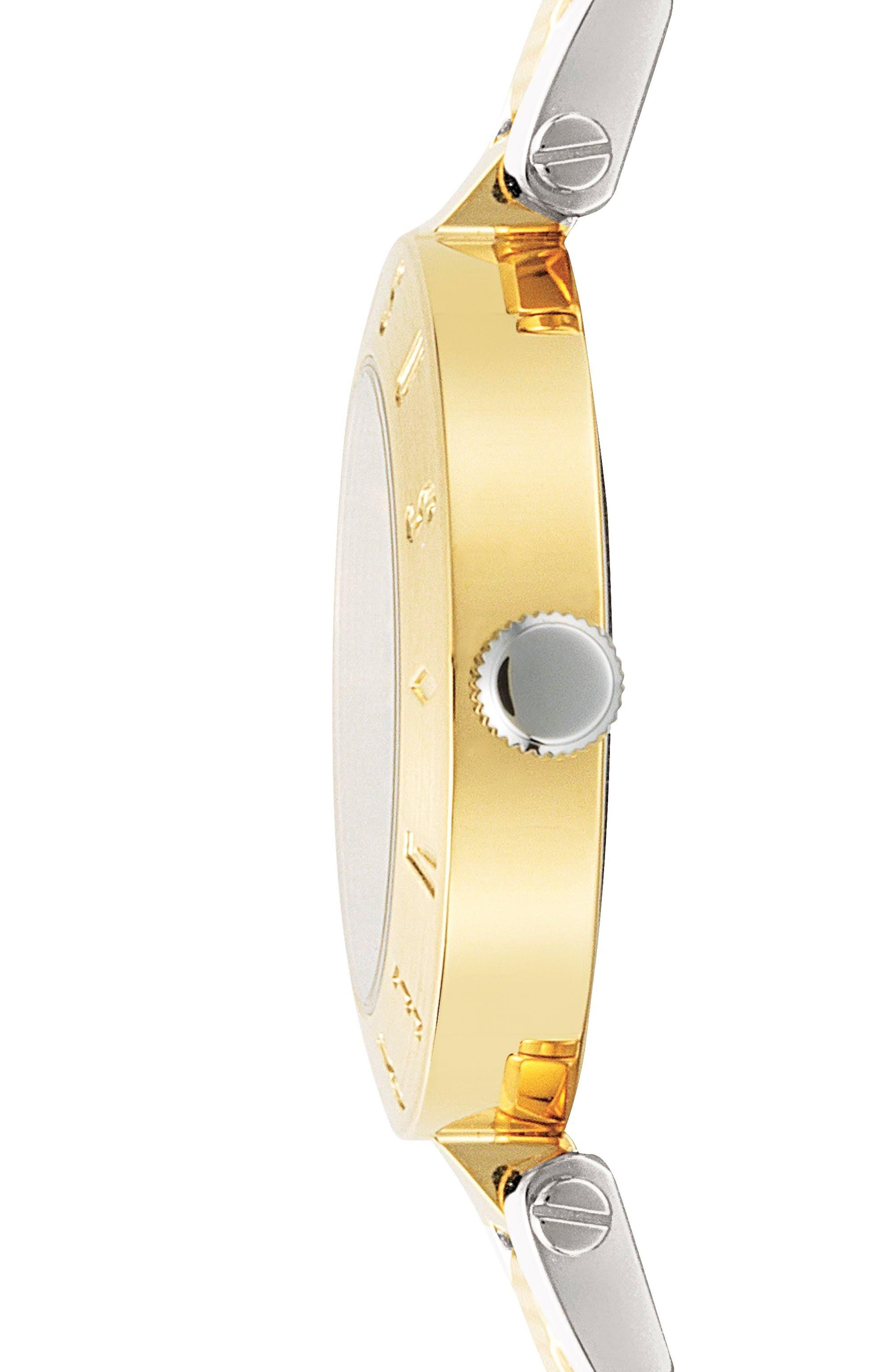 Versus by Versace New Logo Bracelet Watch, 34mm,                             Alternate thumbnail 4, color,