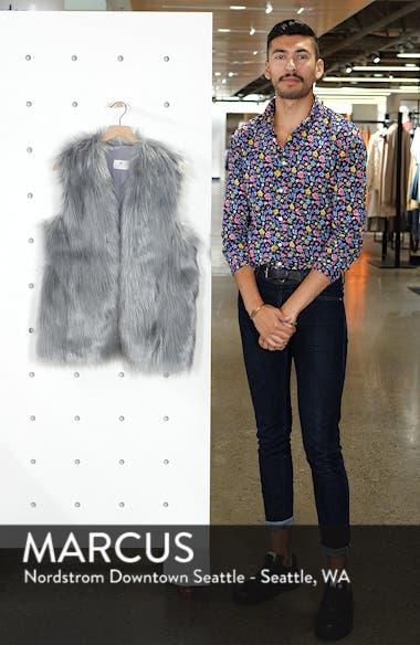 Faux Fur Vest, sales video thumbnail
