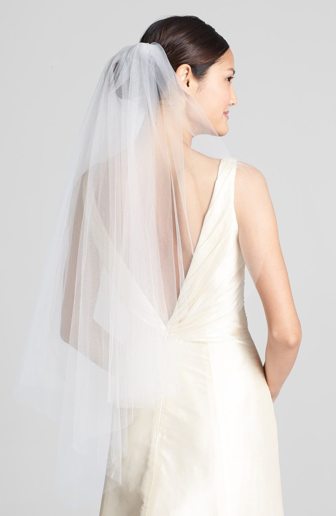 'Ellen' Veil,                             Main thumbnail 1, color,                             IVORY
