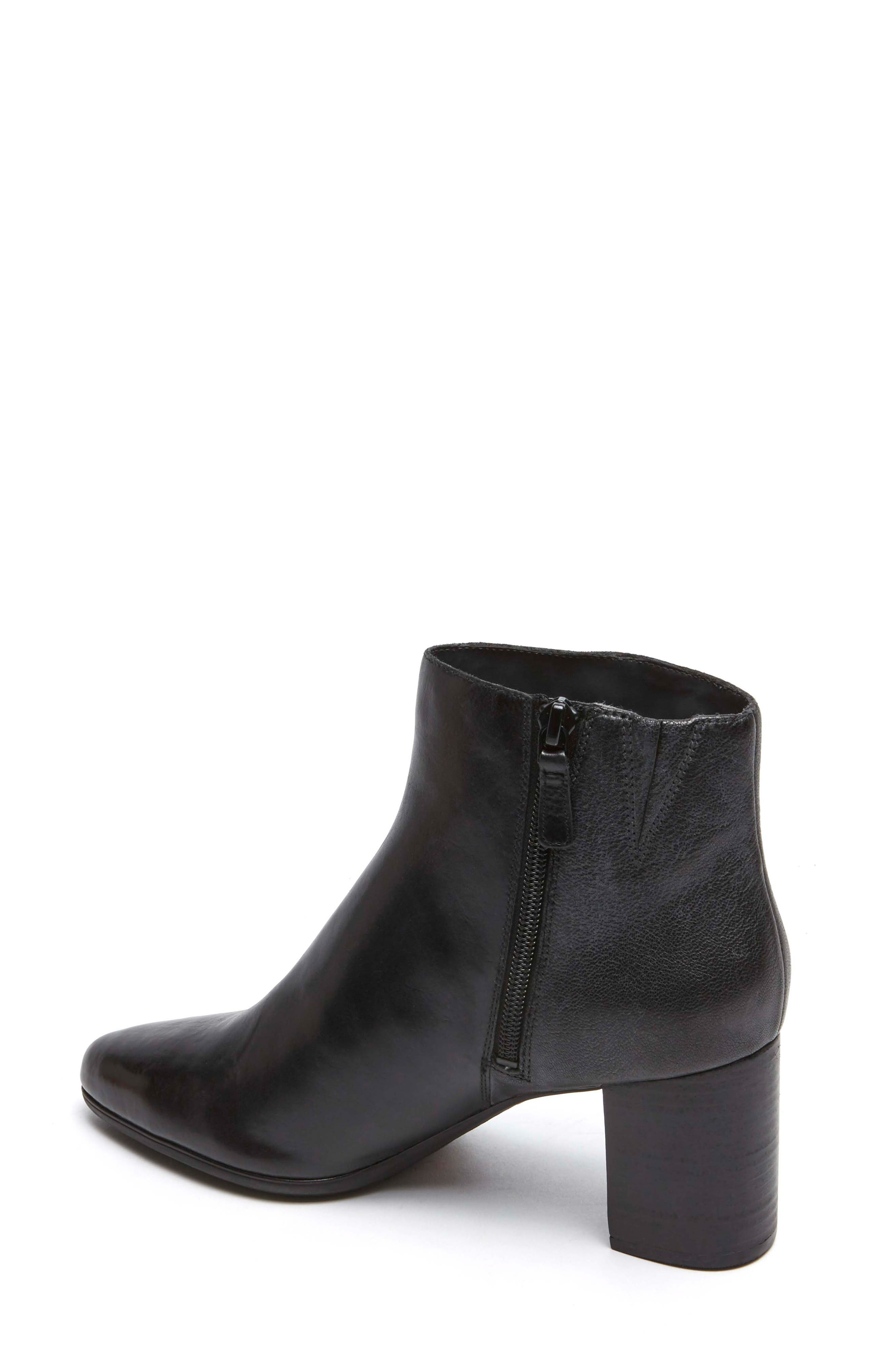 ROCKPORT,                             Total Motion Lynix Bootie,                             Alternate thumbnail 2, color,                             BLACK